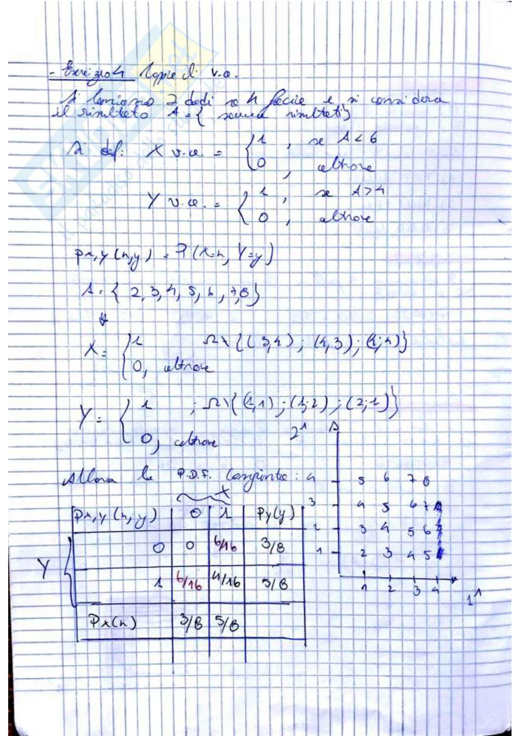 Teoria della Probabilità (2di3) Pag. 2