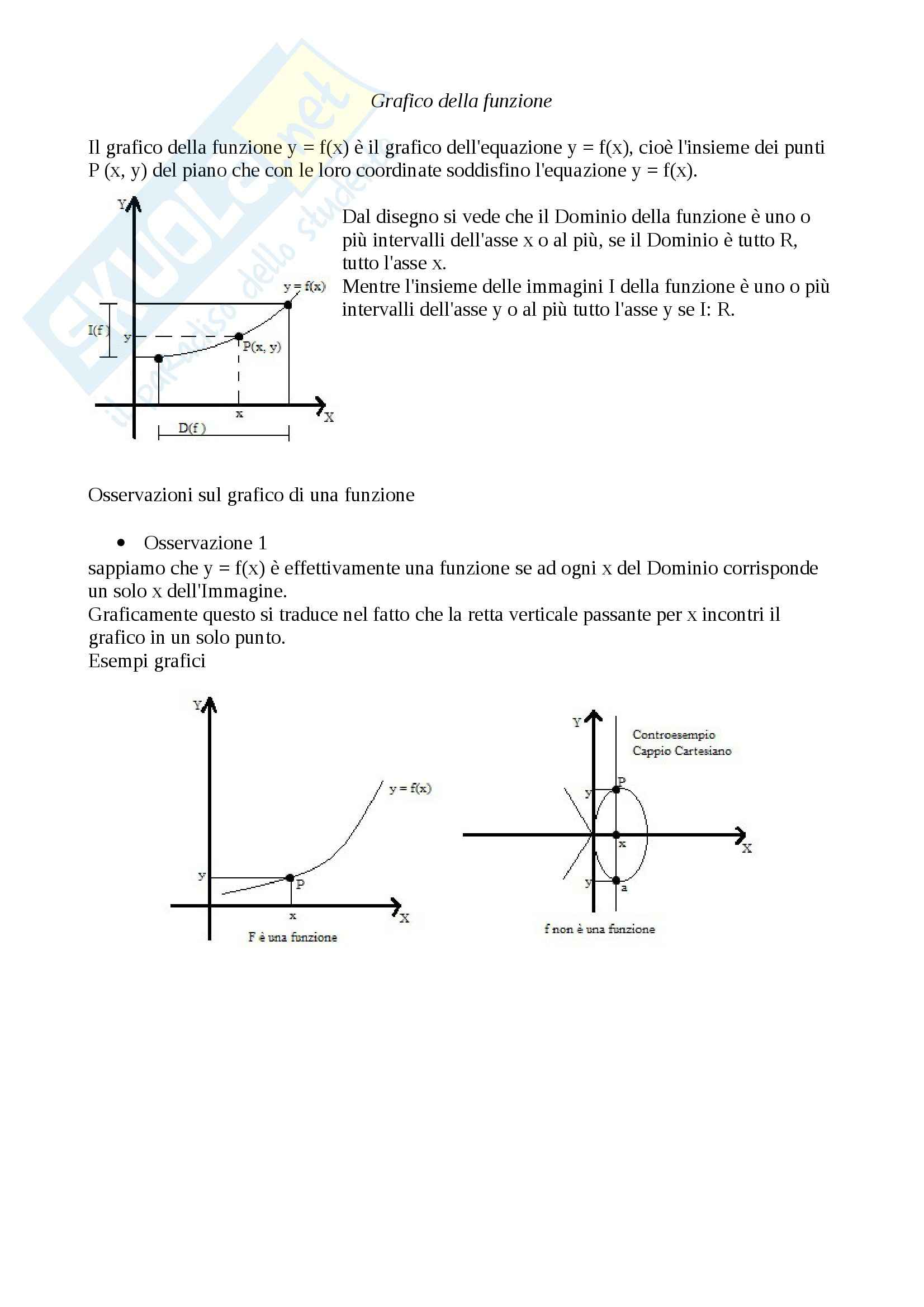 appunto A. Teodori Analisi matematica I