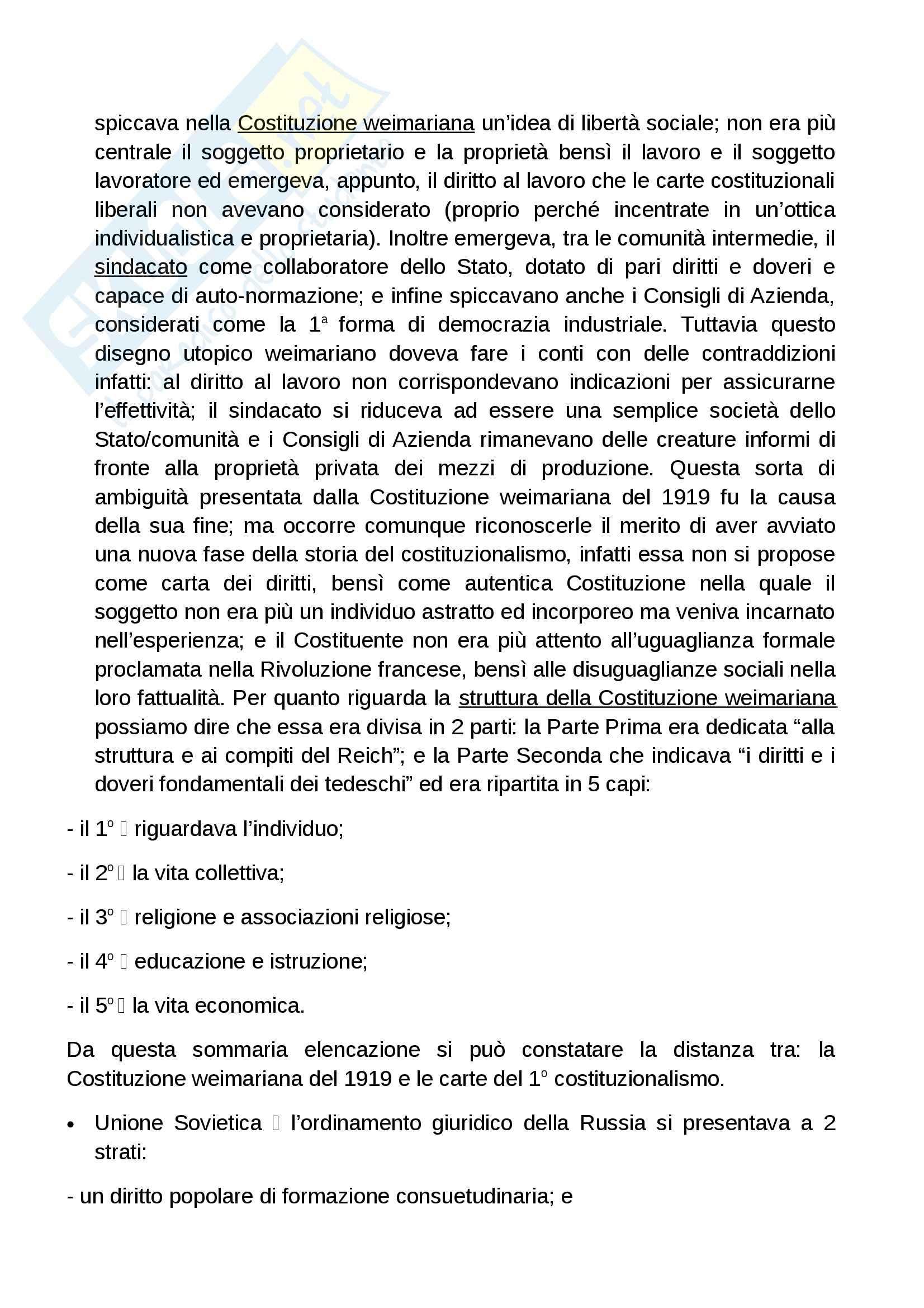 Riassunto esame storia del diritto italiano, prof. Grossi, libro consigliato L'Europa del diritto, Grossi Pag. 36