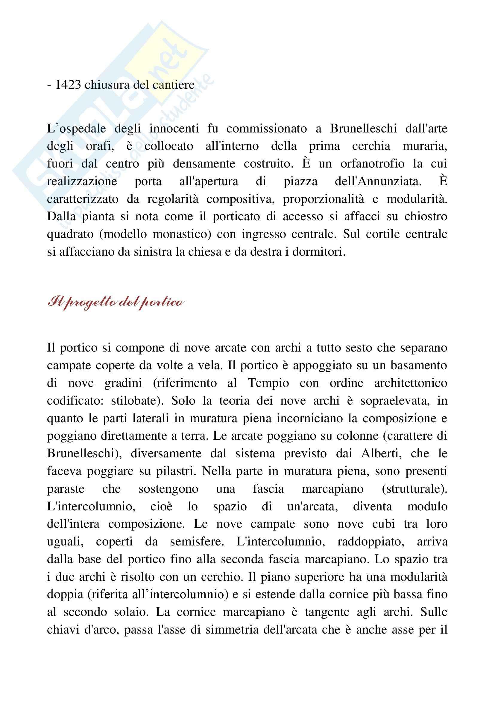 400, società e cultura, Storia dell'architettura moderna Pag. 16