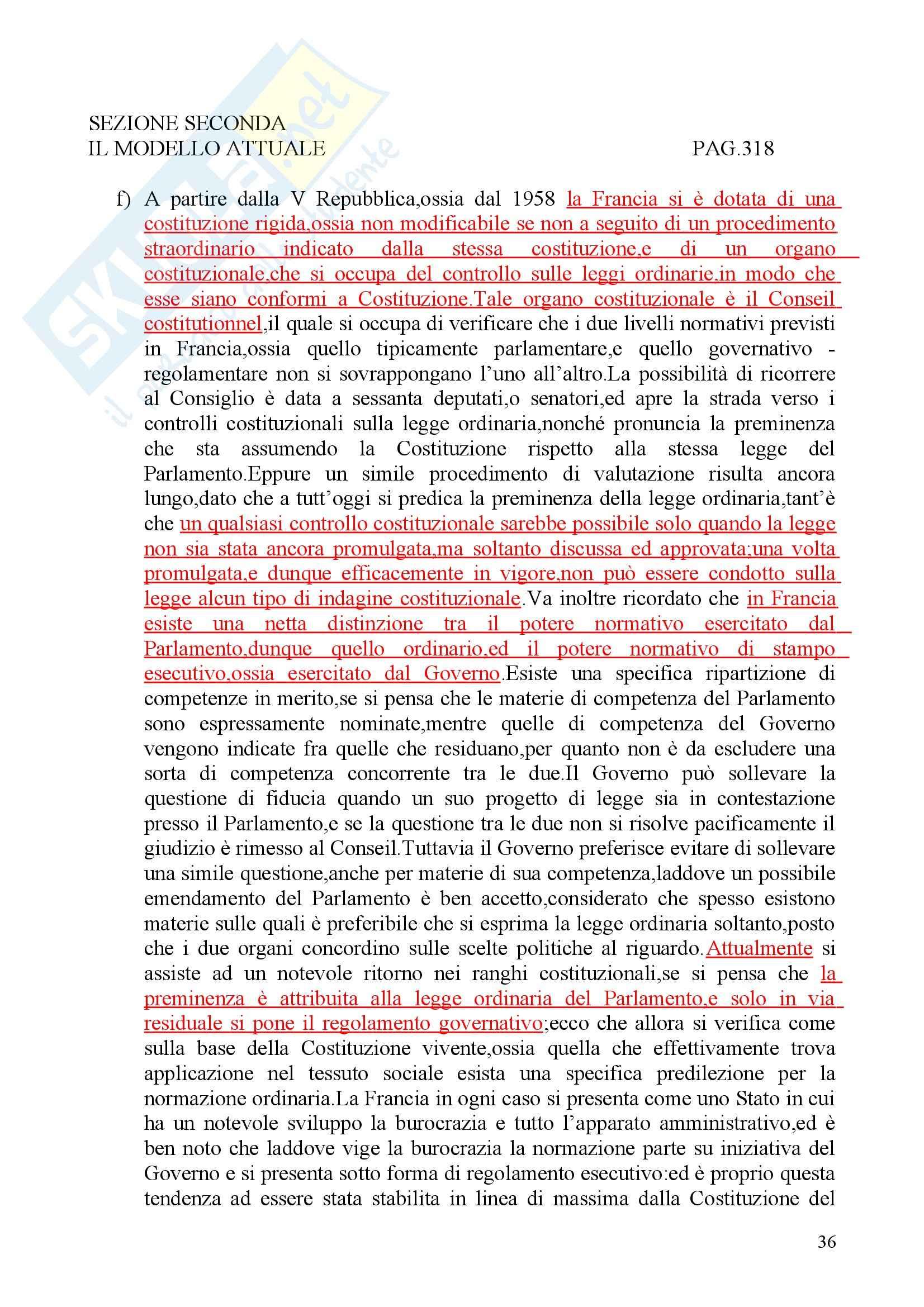 Riassunto esame Diritto privato, prof. Martini, libro consigliato Sistemi giuridici comparati, Gambaro Sacco Pag. 36