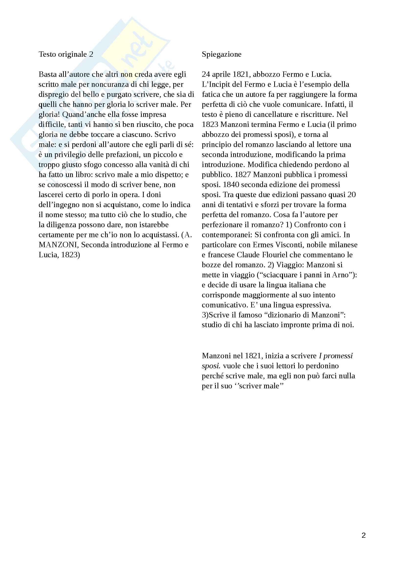 Letteratura e giornalismo Pag. 2