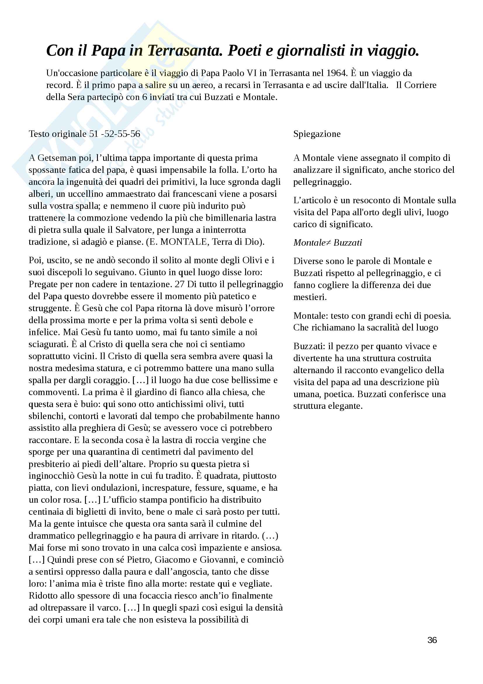 Letteratura e giornalismo Pag. 36
