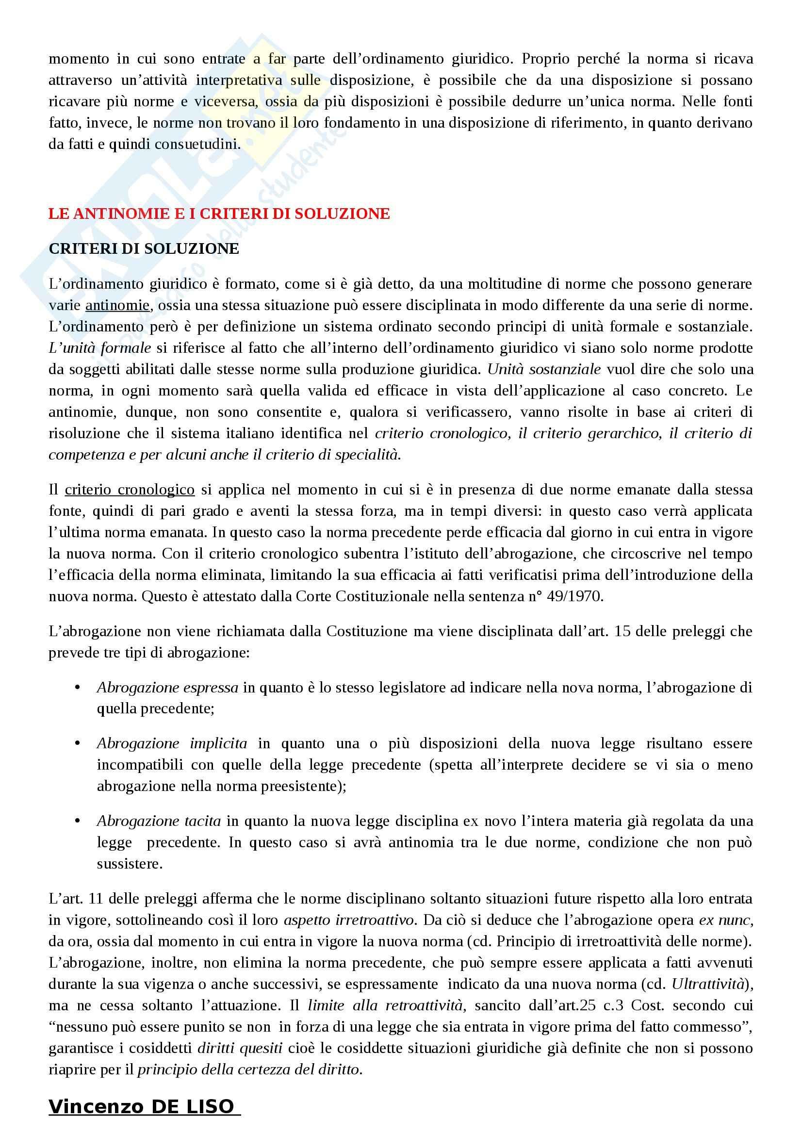 Riassunto esame Diritto Costituzionale, prof. Villone, libro consigliato La Costituzione italiana, Diddi Nardi, Coen Pag. 2