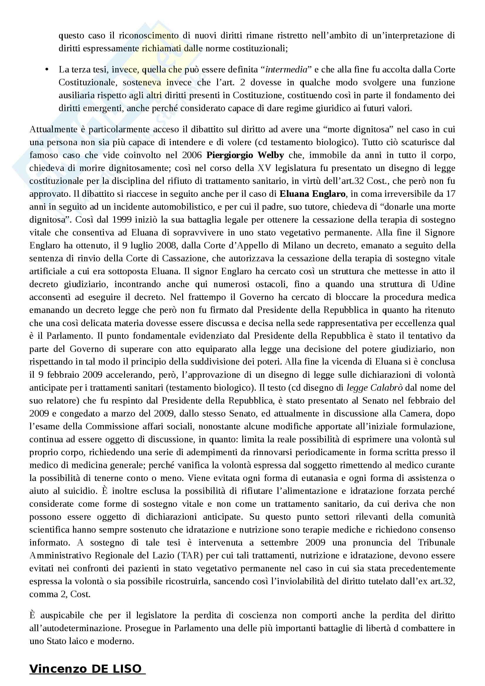 Riassunto esame Diritto Costituzionale, prof. Villone, libro consigliato La Costituzione italiana, Diddi Nardi, Coen Pag. 26