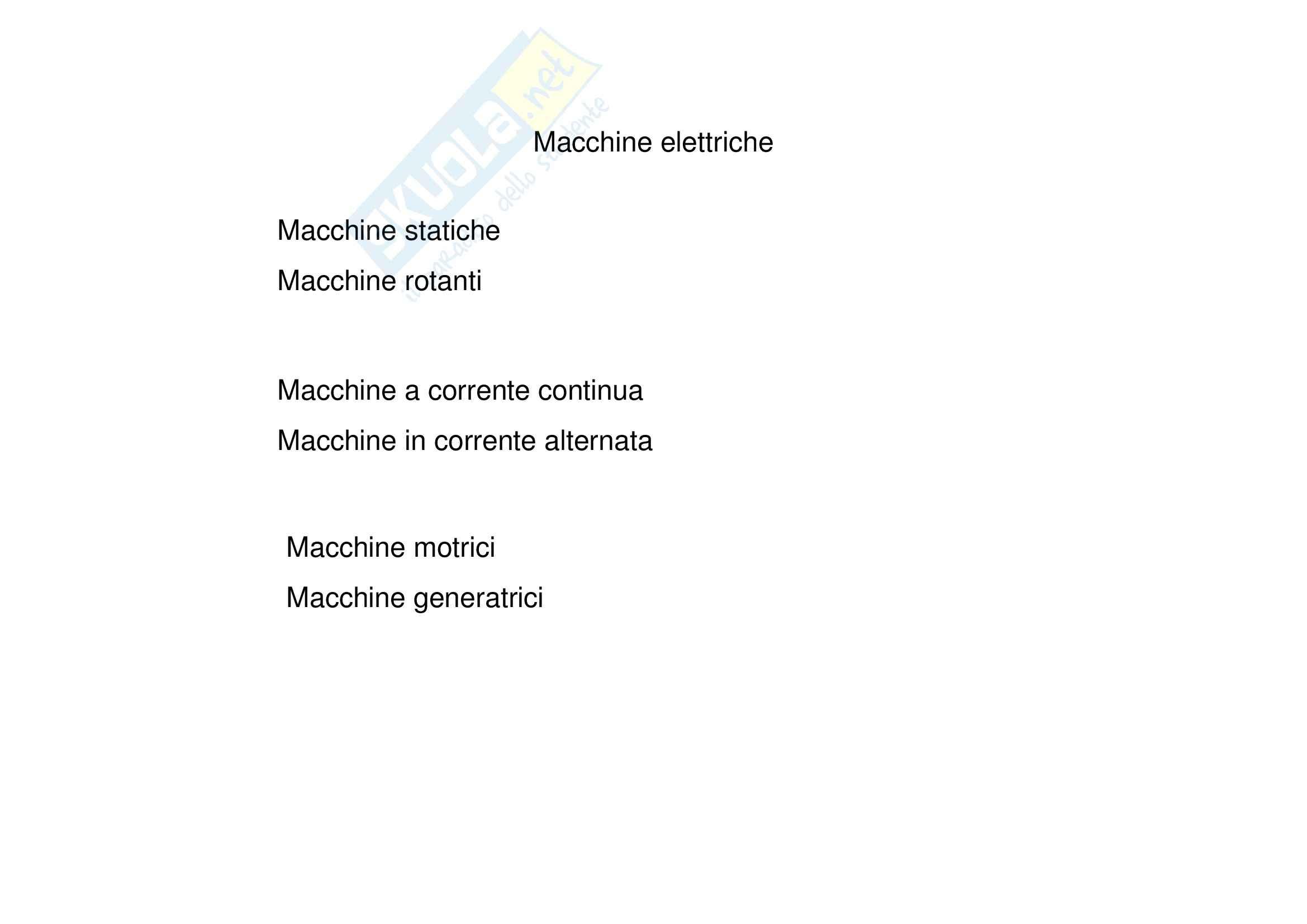 Macchine elettriche - Motore a corrente continua