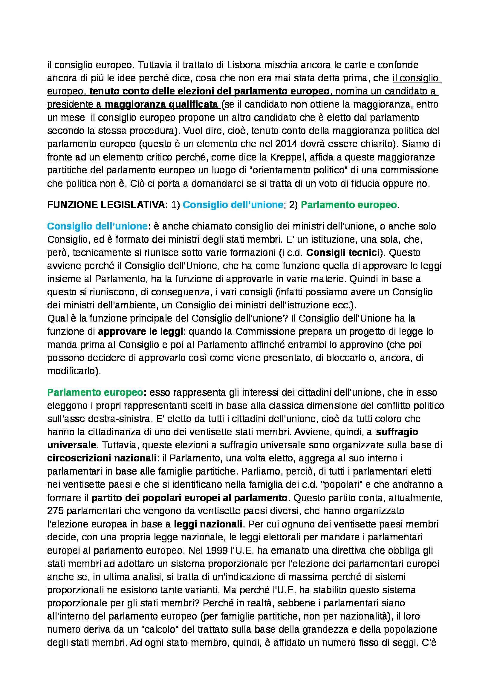 Politica dell'Unione Europea - Appunti Pag. 16