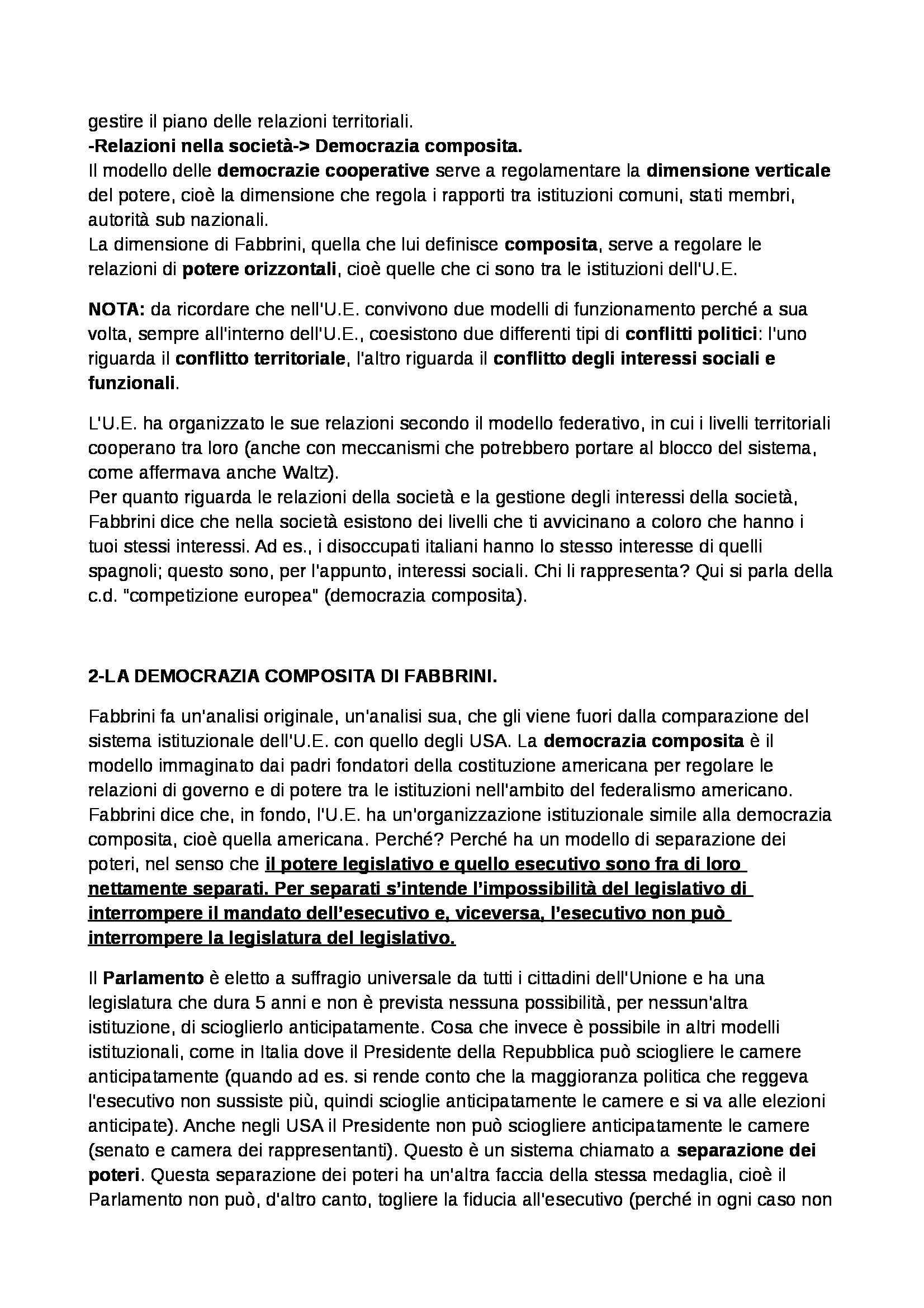 Politica dell'Unione Europea - Appunti Pag. 26