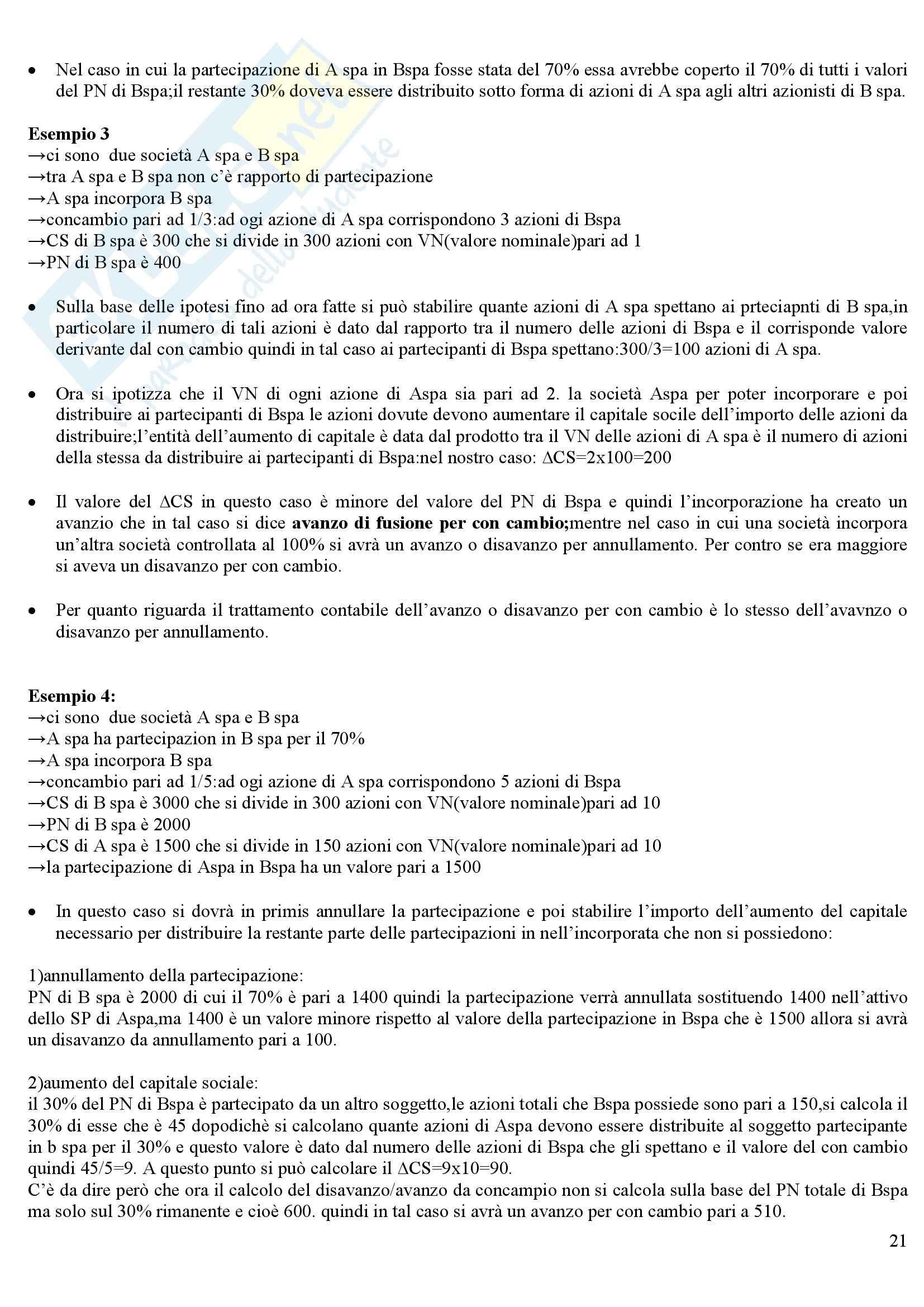 Bilancio, conto economico e stato patrimoniale - Ragioneria generale Pag. 21