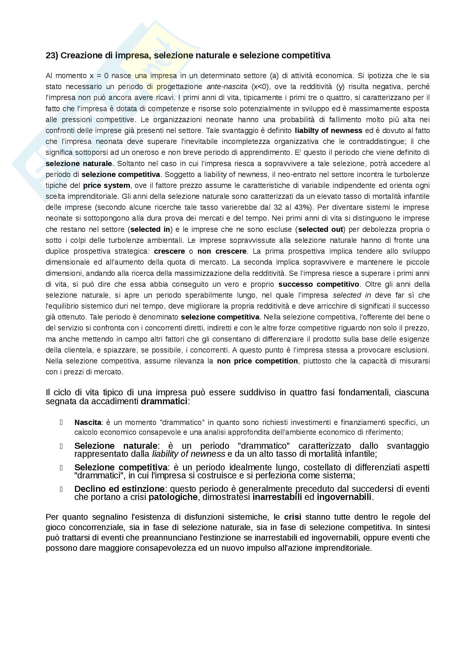 Economia e gestione delle imprese Pag. 31