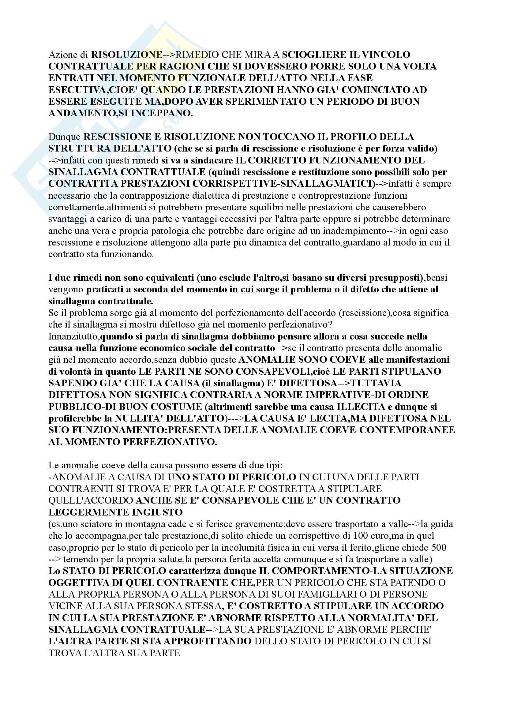 Appunti Lezioni Istituzioni di Diritto Privato 2 Pasquino Unitn Trento Giurisprudenza Torrente Contratti parte 2 2015/2016 Pag. 126