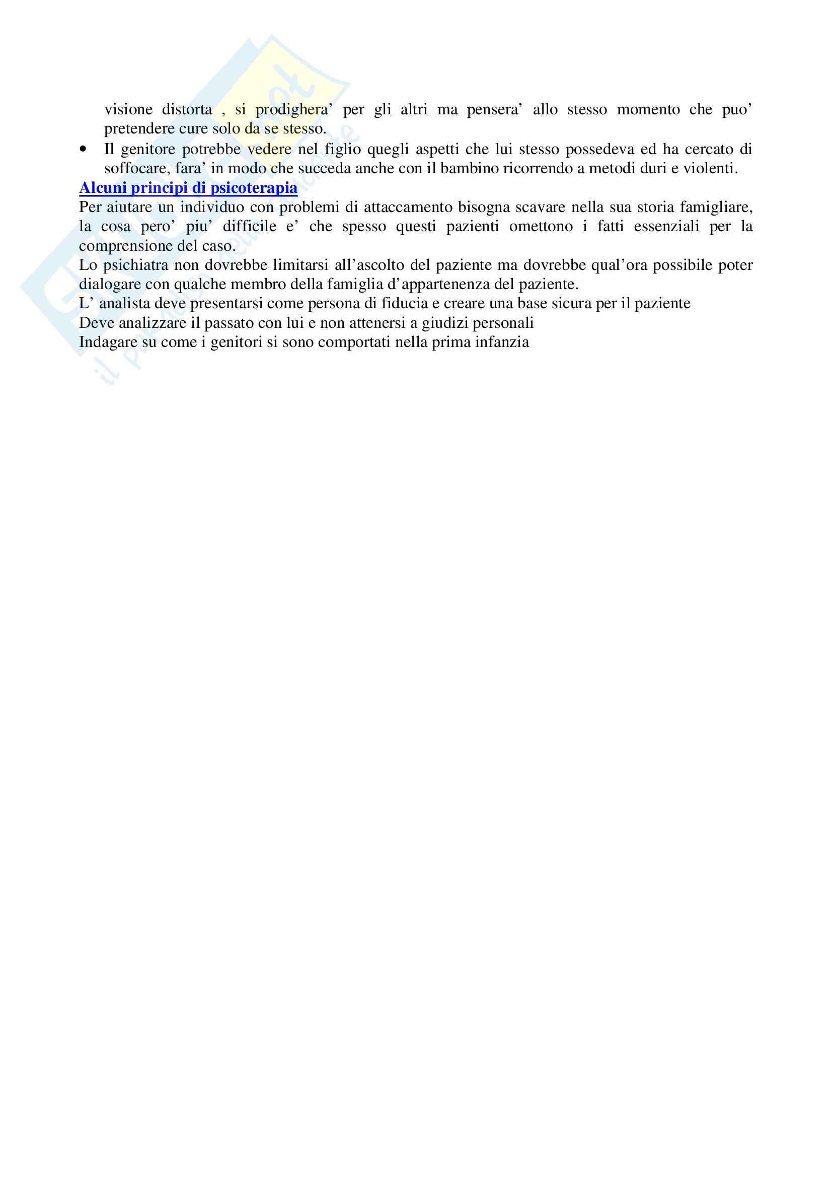 Costruzione e rottura dei legami affettivi Pag. 11