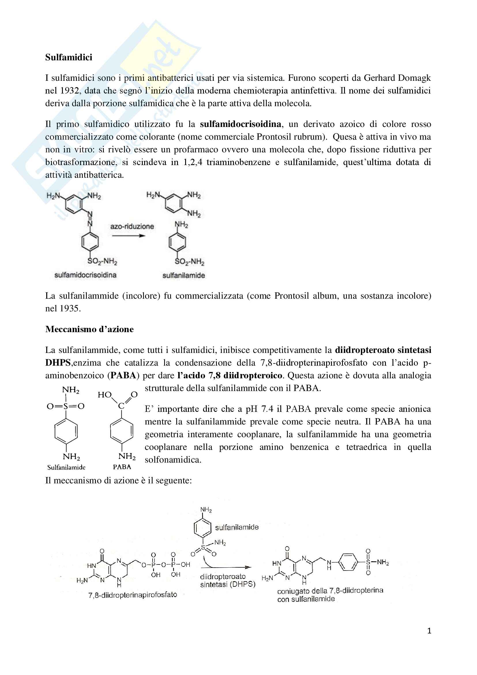 Chimica farmaceutica e tossicologia 1