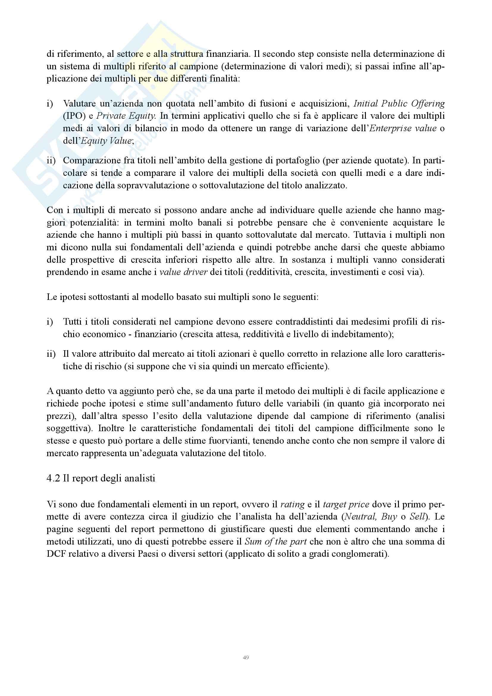 Appunti Informativa, governance e controlli in banche e assicurazioni Pag. 51