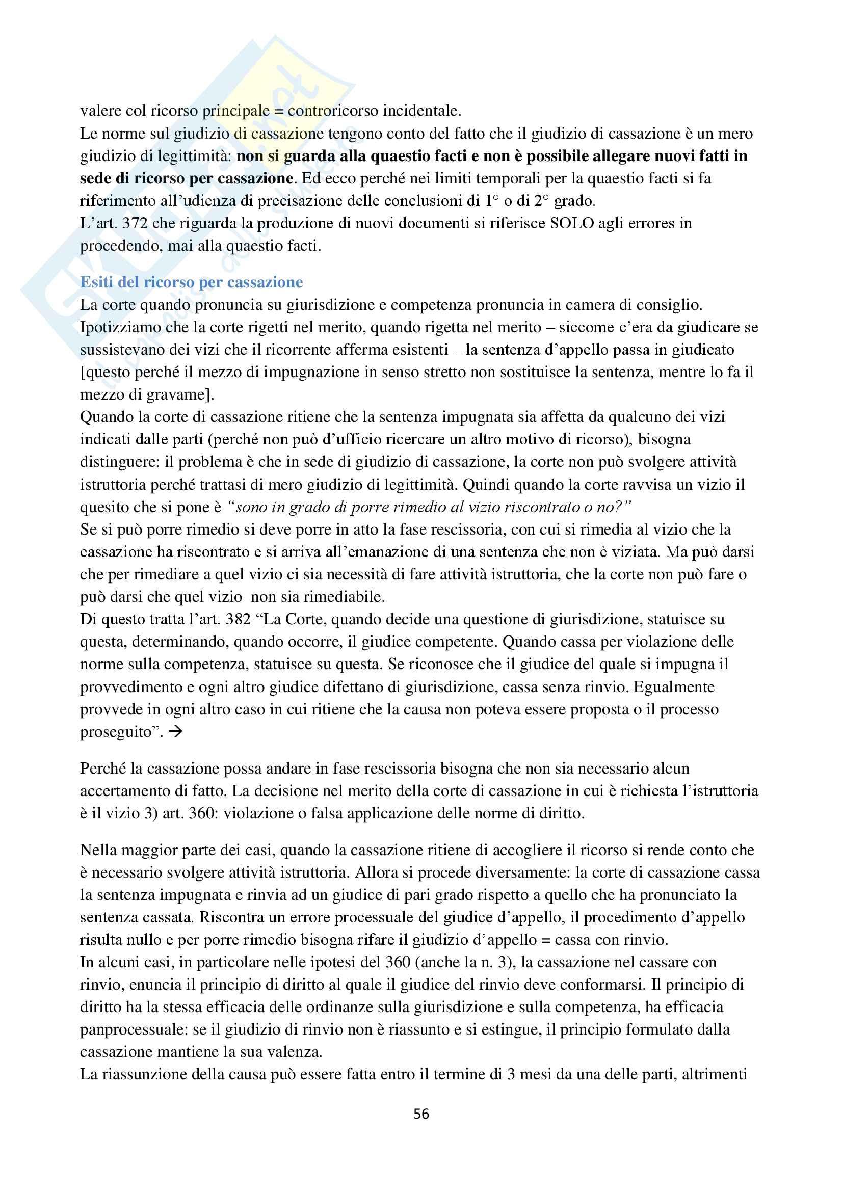 Appunti di Procedura Civile I D'Alessandro per esoneri. Unito Pag. 56