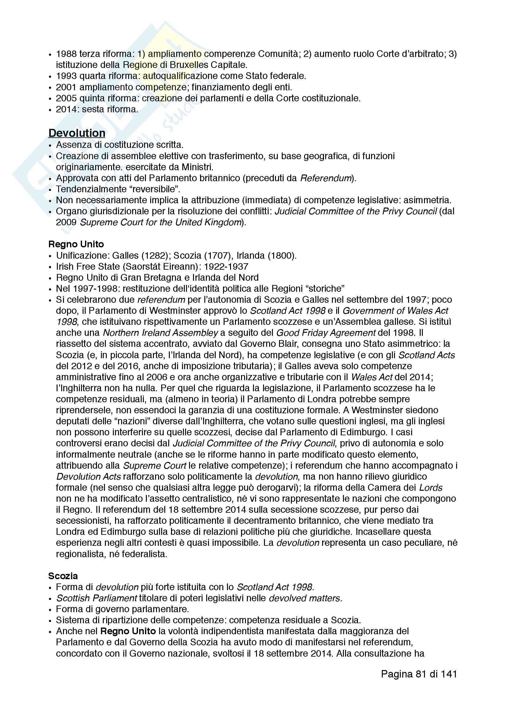 Riassunto esame Diritto Pubblico Comparato, prof. Nicolini, libro consigliato Materiali essenziali per un corso di diritto pubblico comparato e La famiglia giuridica 'mista' dell'Africa australe Pag. 81