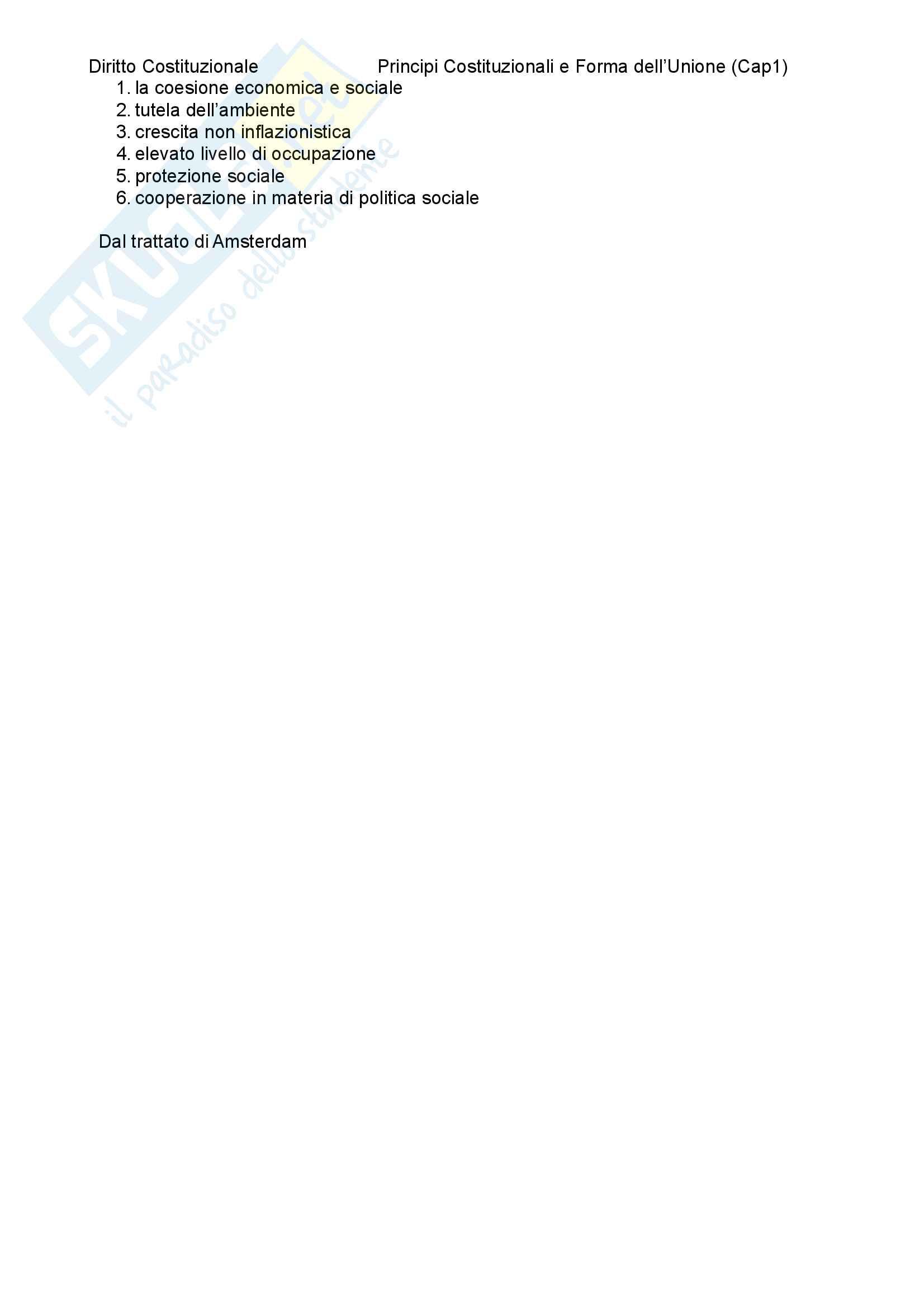 Riassunto esame diritto costituzionale, prof. Mezzetti, libro consigliato principi costituzionali Pag. 6