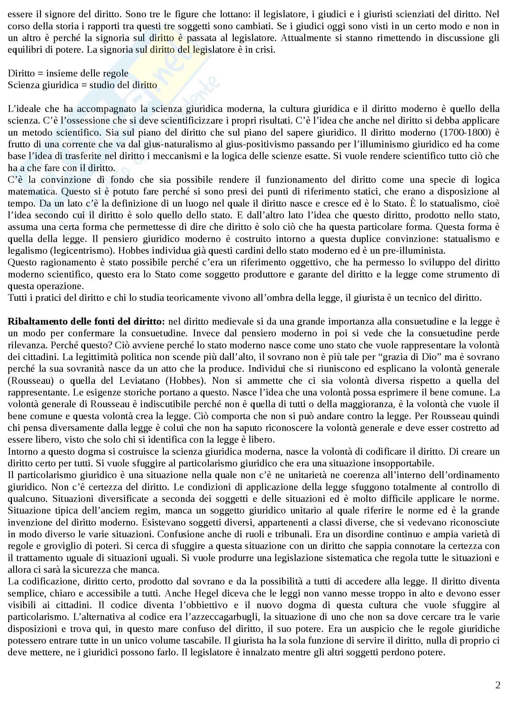 Logica e argomentazione giuridica - Appunti Pag. 2