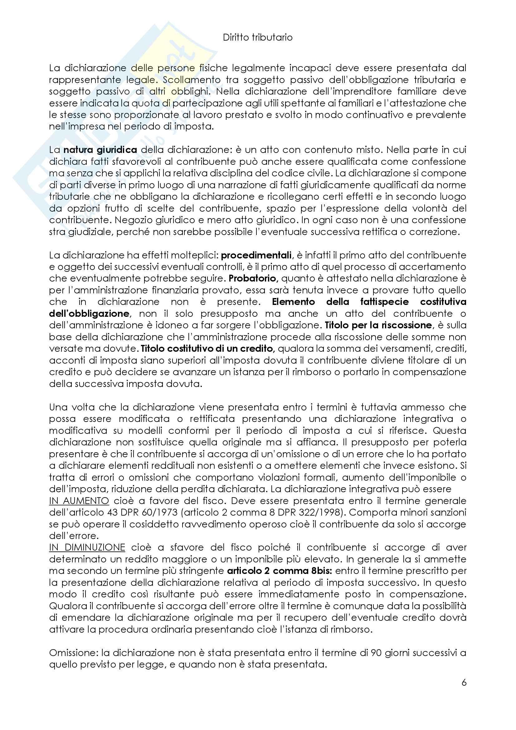 Schemi di diritto tributario Pag. 6