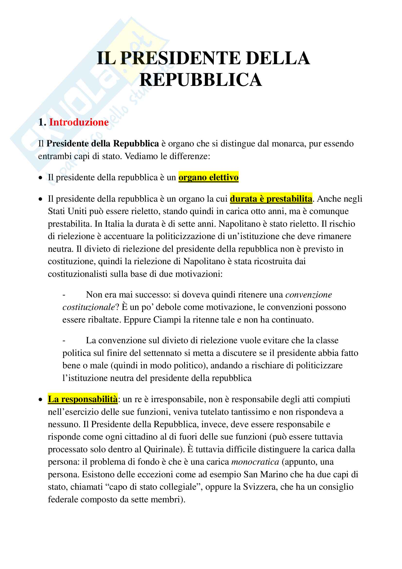 appunto D. Galliani Diritto pubblico