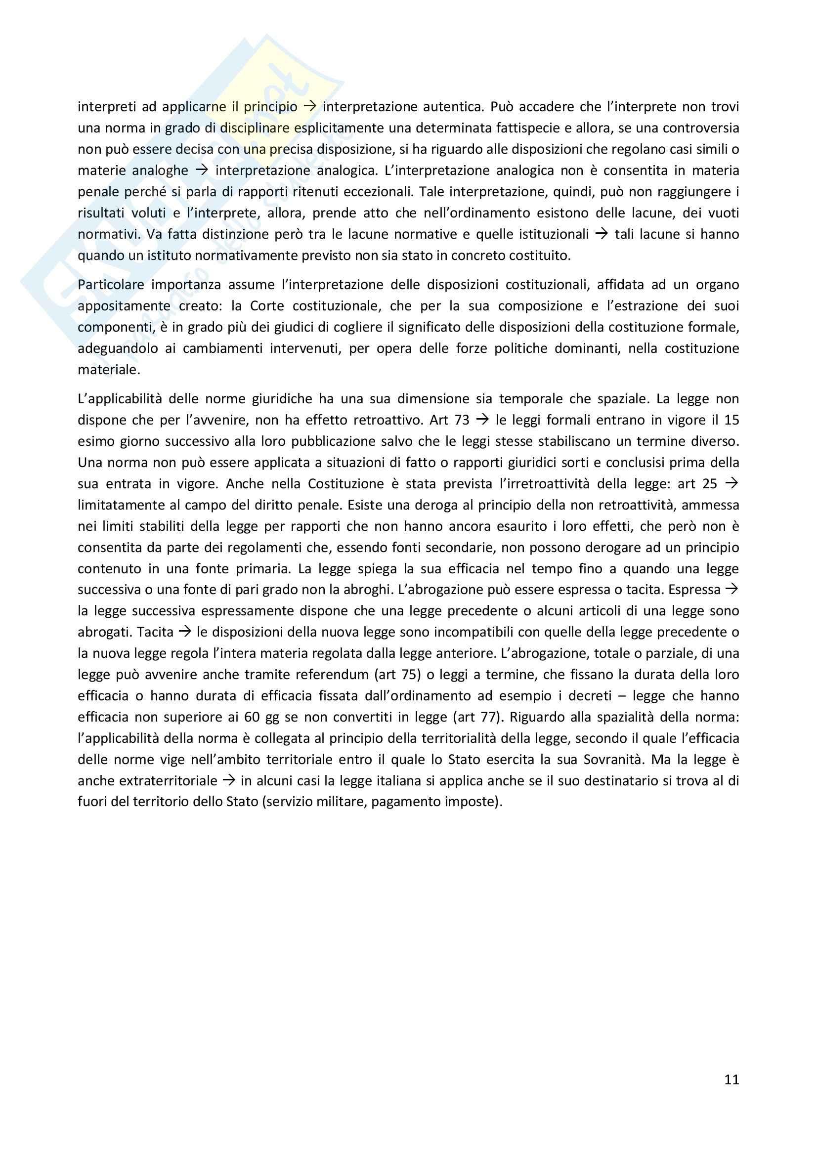 Diritto Costituzionale, Temistocle Martines - Le fonti Pag. 11