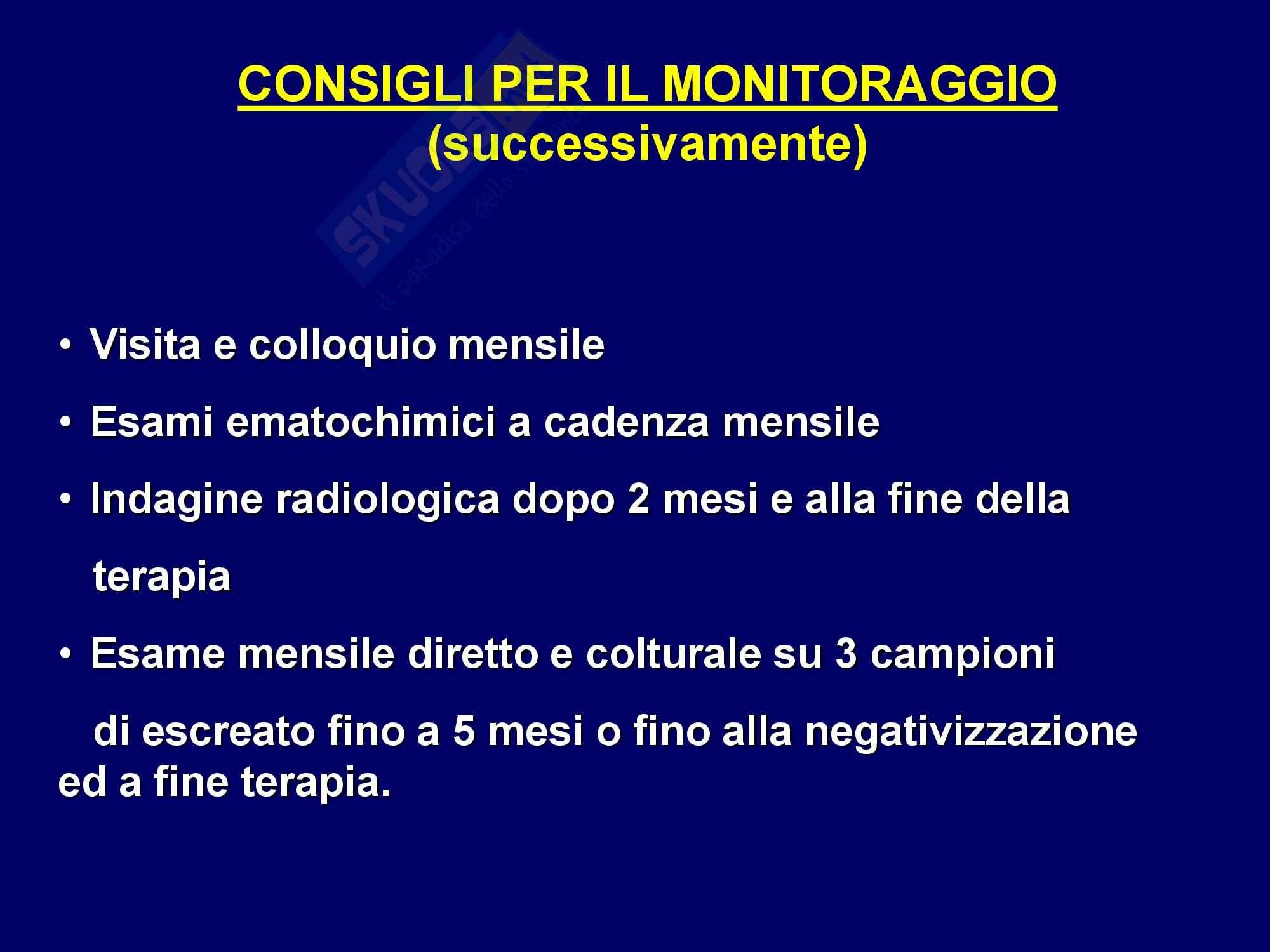 TBC - Tubercolosi polmonare Pag. 46