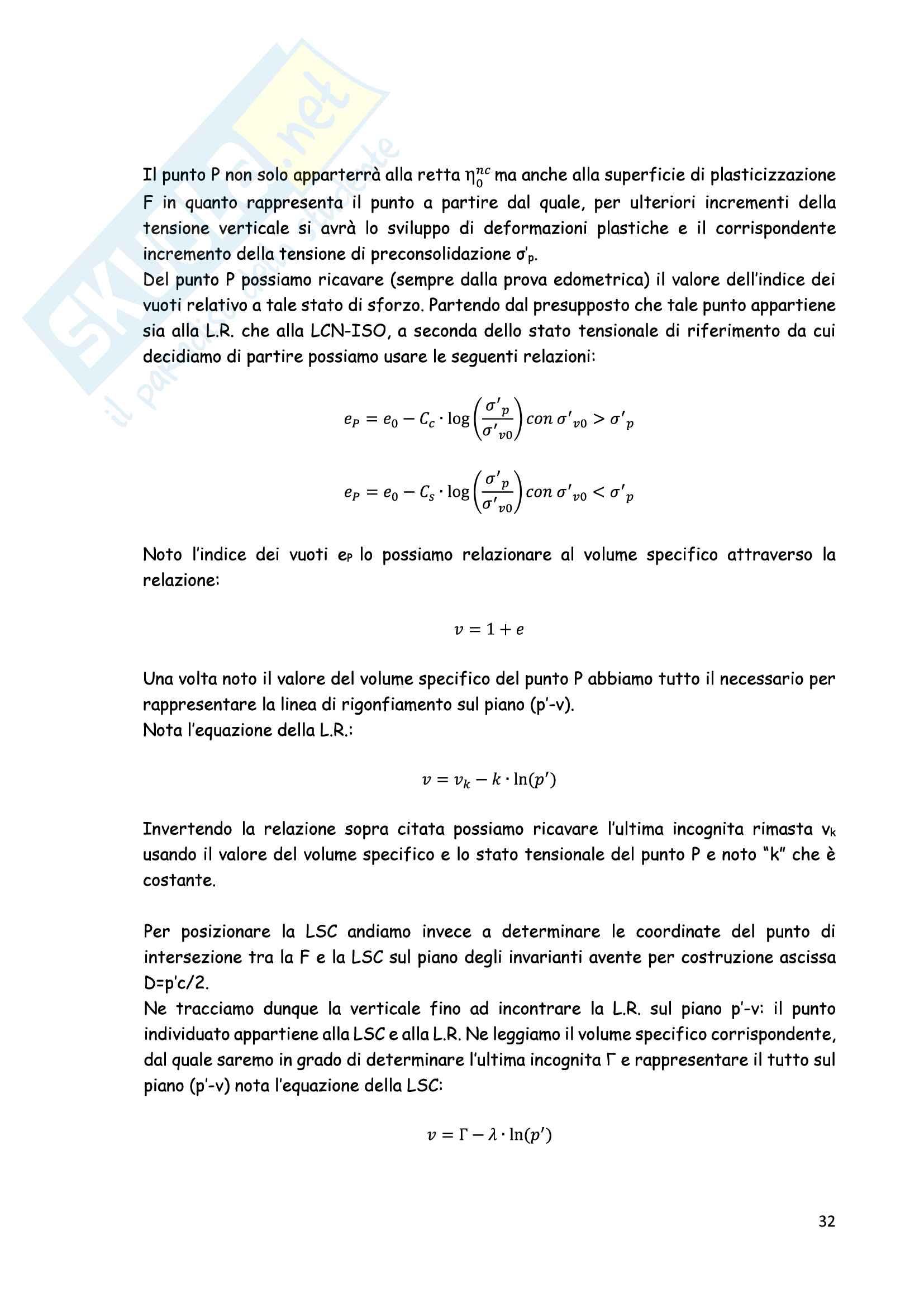 Esercitazioni: Elaborazioni Prove di Laboratorio e modellazione costitutiva in Flac Pag. 31