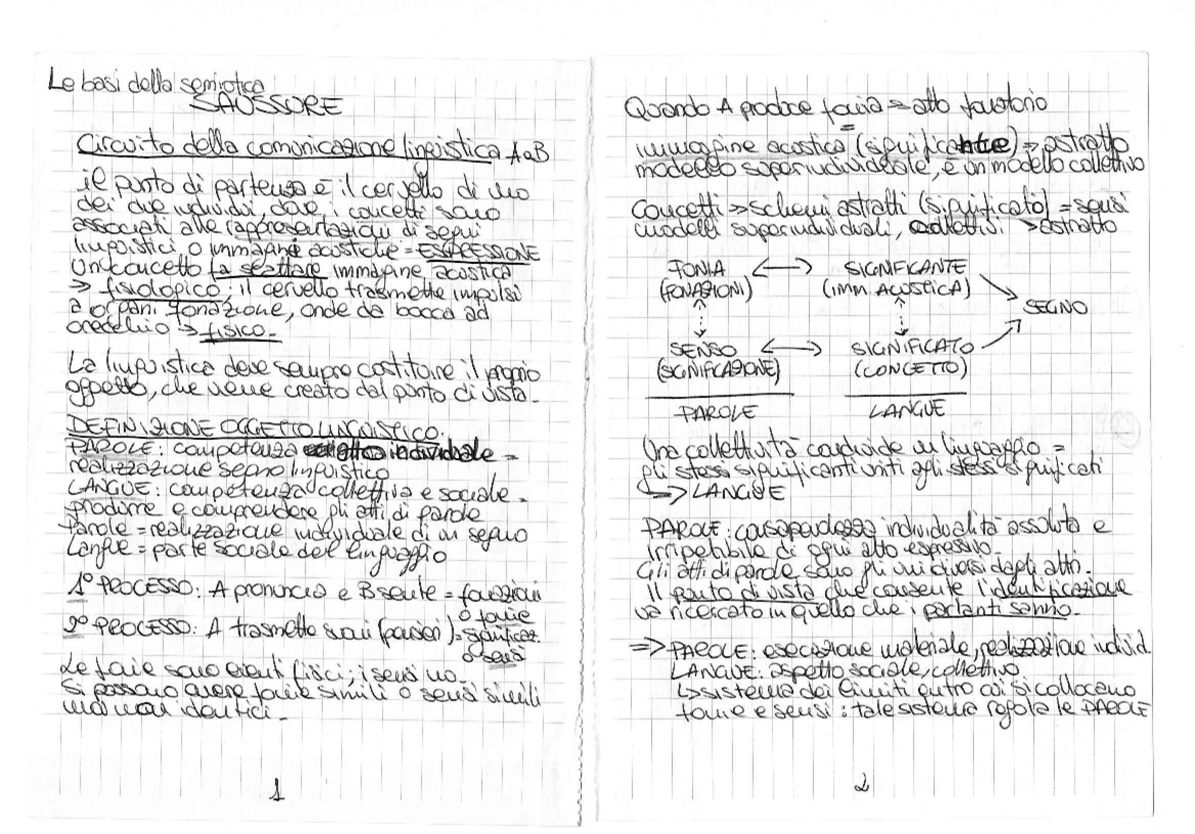 Riassunto esame Semiotica, prof. Bartezzaghi, libro consigliato Le Basi della Semiotica, Traini