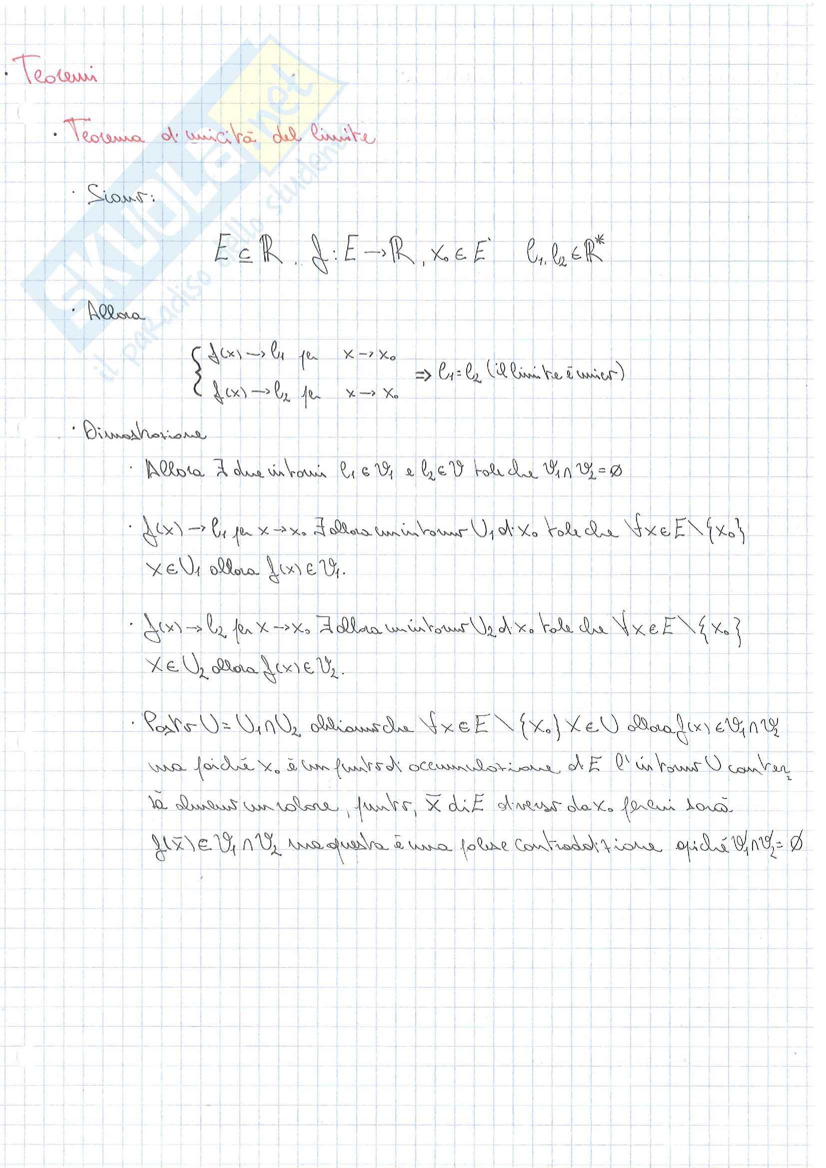 Lezioni, Analisi e geometria I Pag. 31