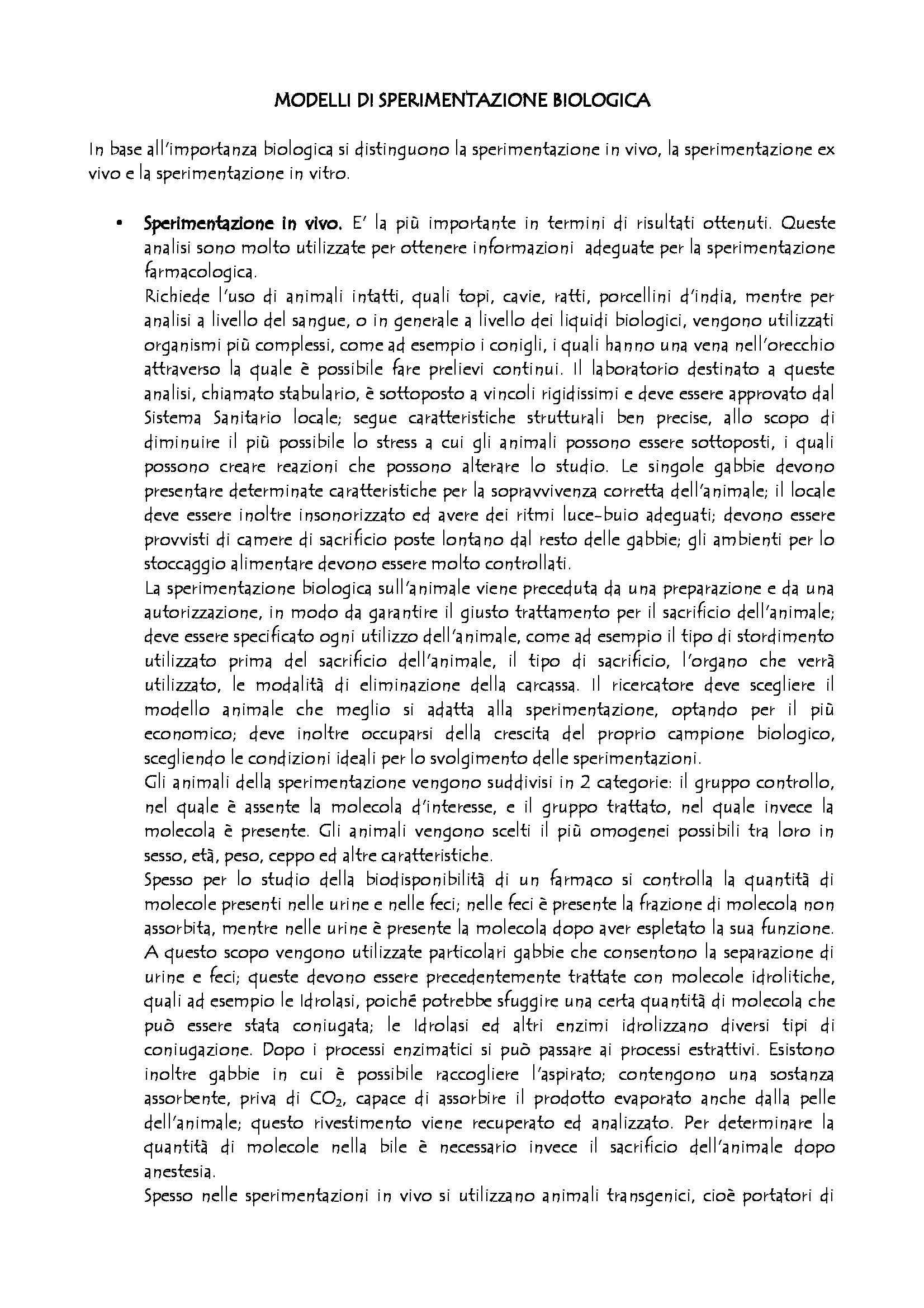 appunto A. Pintaudi Biochimica applicata