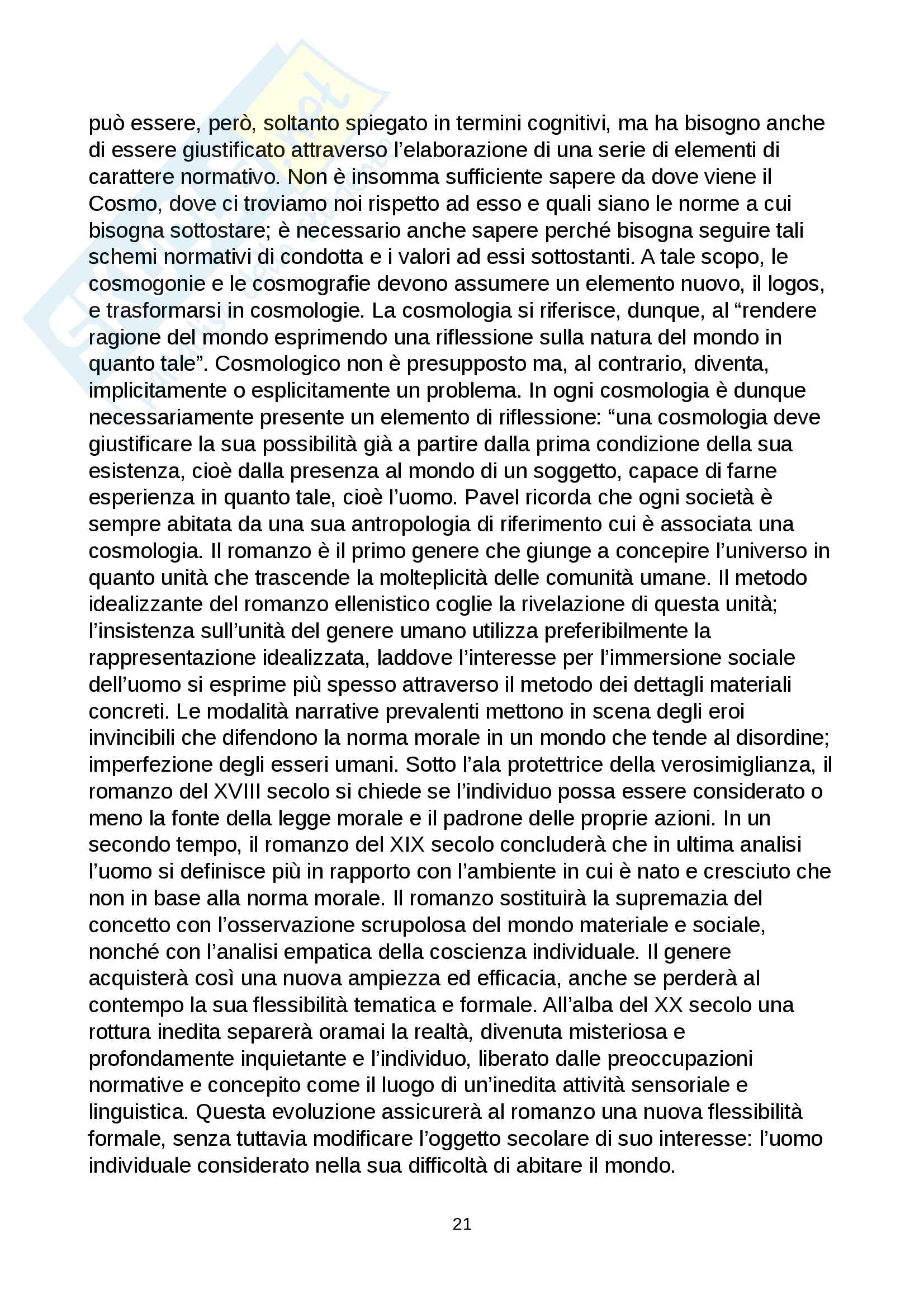 Riassunto esame Comunicazione e processi culturali, prof. Pecchinenda Gianfranco, libro consigliato Il Sistema Mimetico, Gianfranco Pecchinenda Pag. 21
