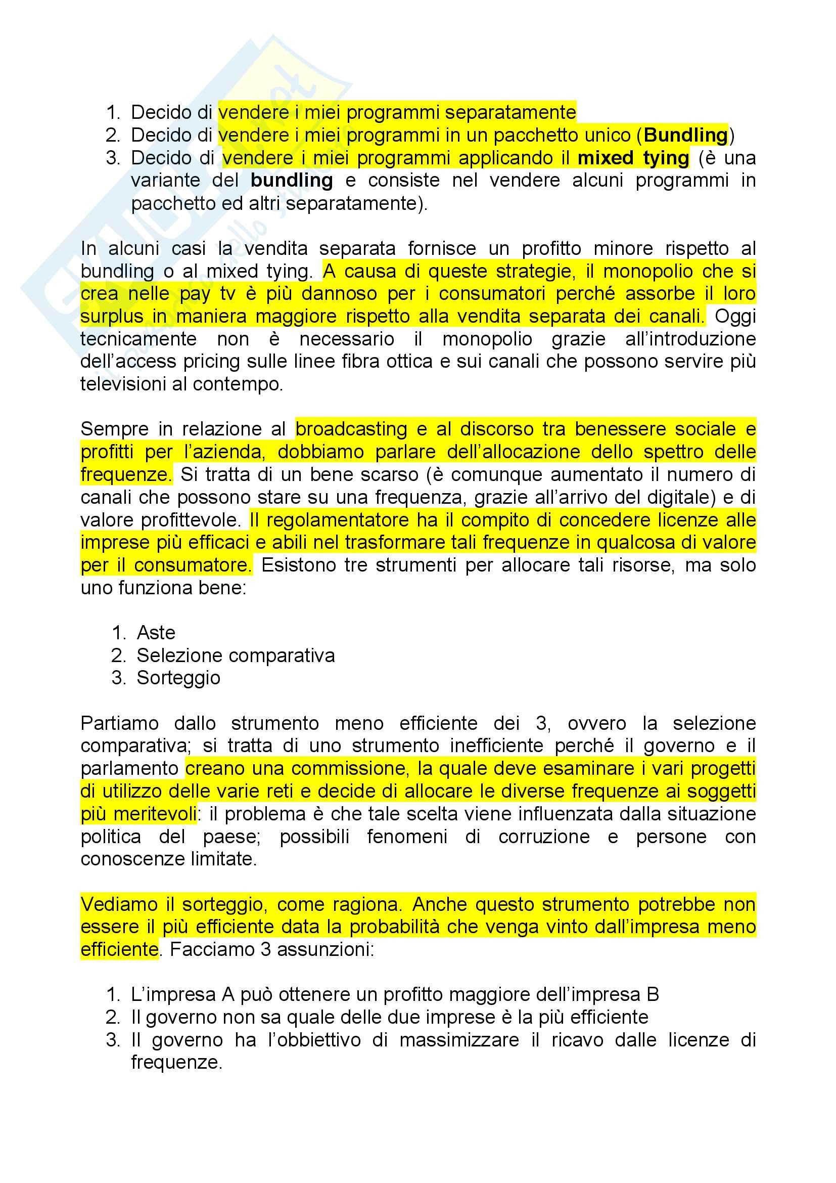 Economia dell'informazione Pag. 51