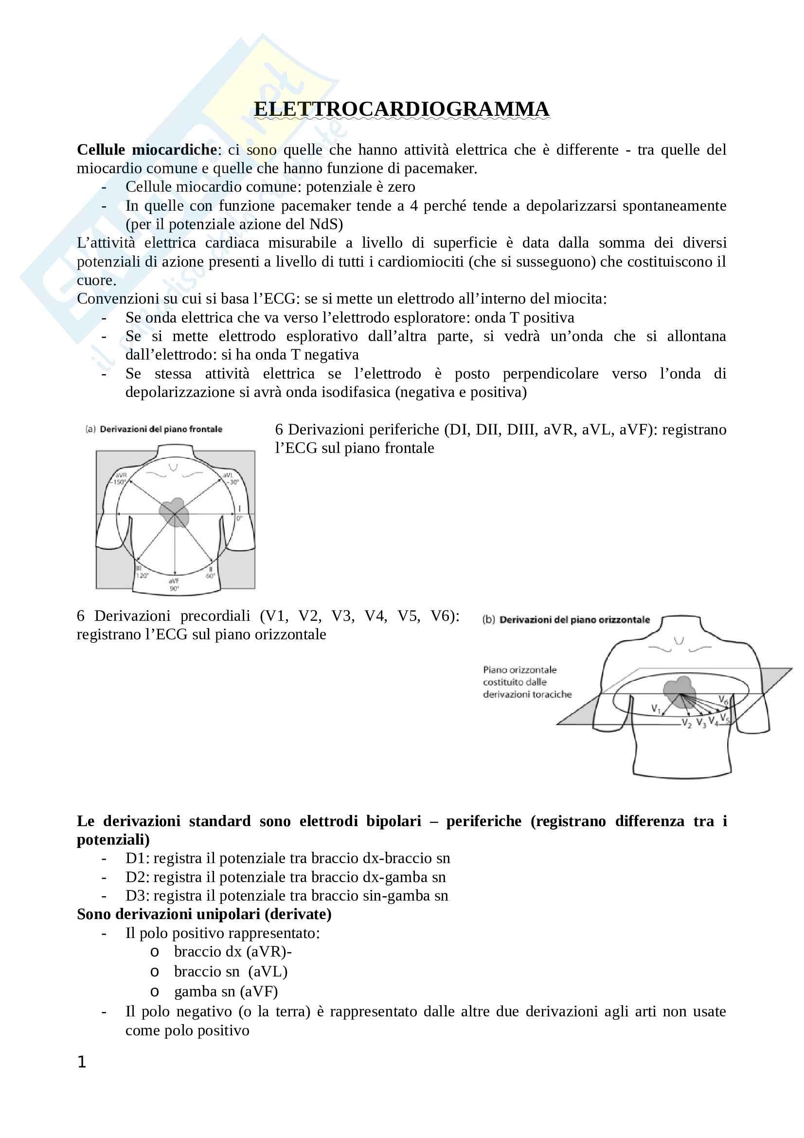 Elettrocardiogramma (ECG) e aritmie