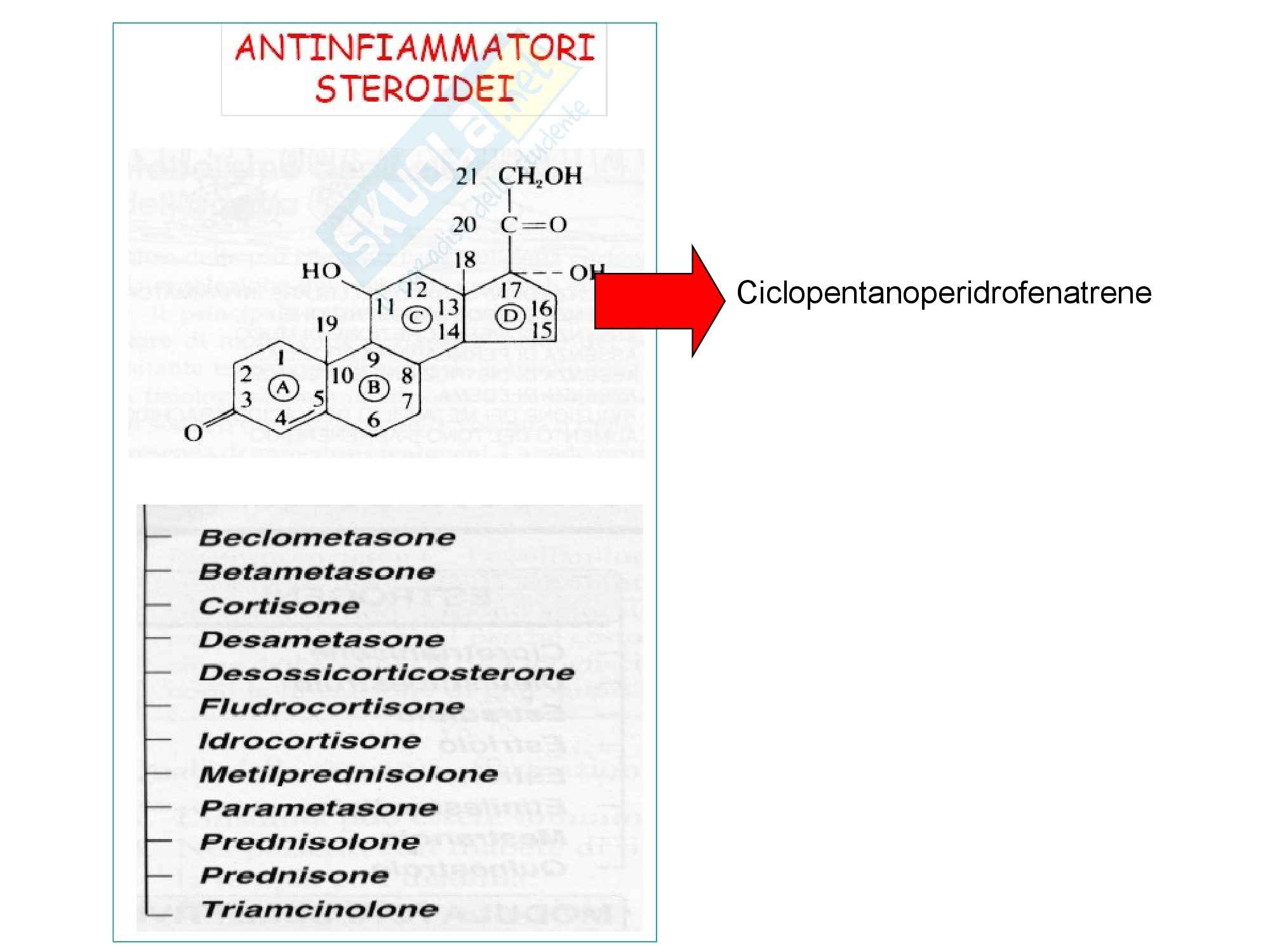 Antinfiammatori steroidei
