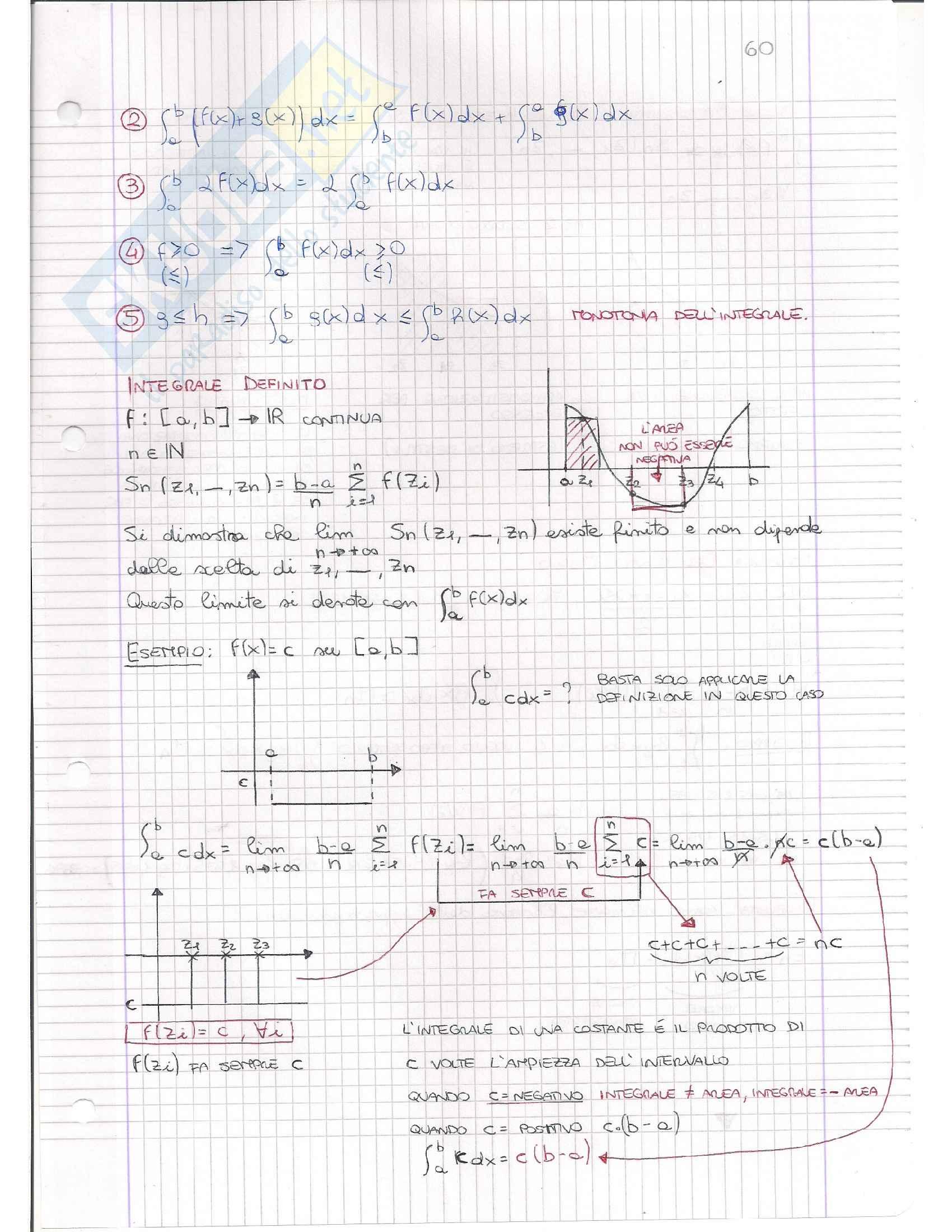 Integrali e confronto con Serie Numeriche, Analisi matematica I Pag. 6