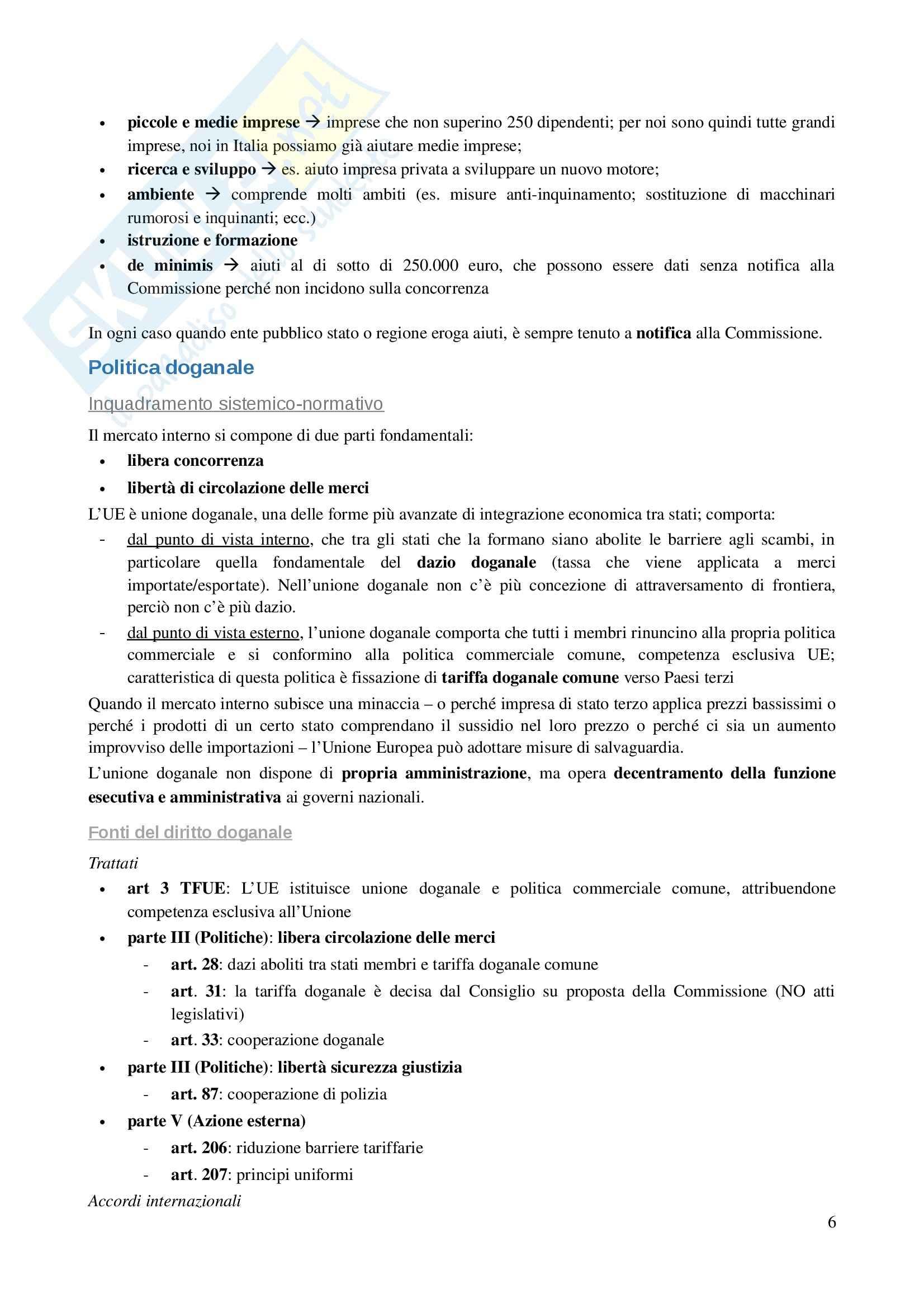 Parte 2, Diritto dell'Unione Europea Pag. 6