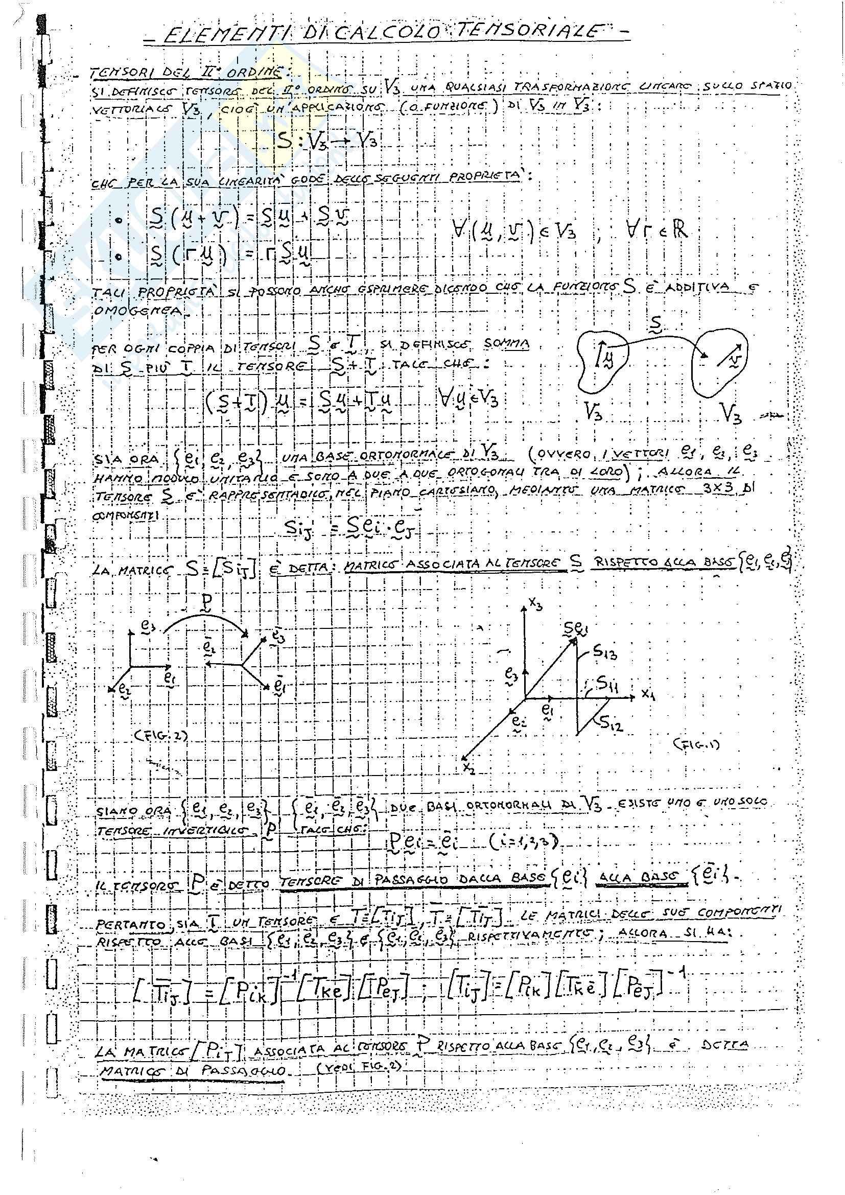 Appunti scienze delle costruzioni, parte I