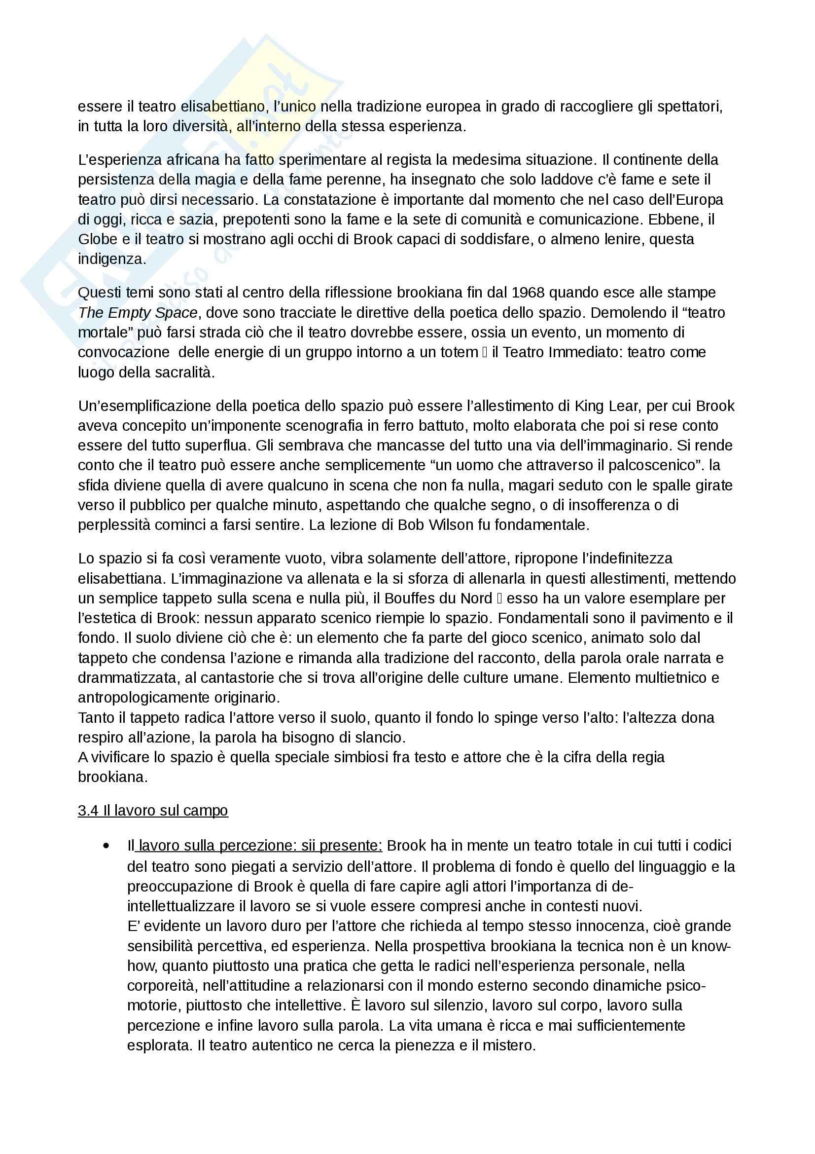 Riassunto esame Spettacolo, prof. Garavaglia, libro consigliato La regia teatrale del secondo Novecento, Zanlonghi Pag. 11