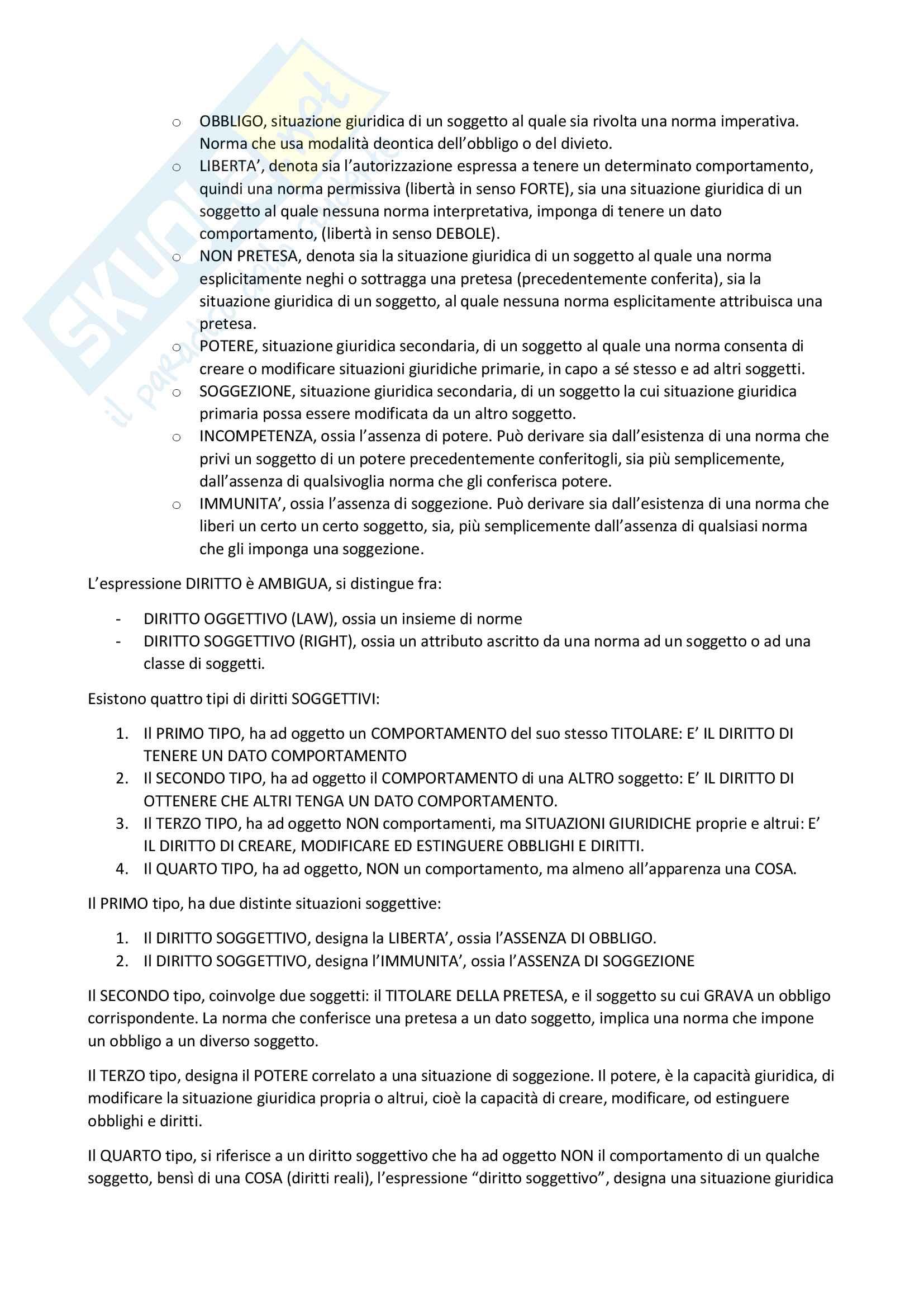 Appunti filosofia del diritto (Secondo compito) Pag. 16