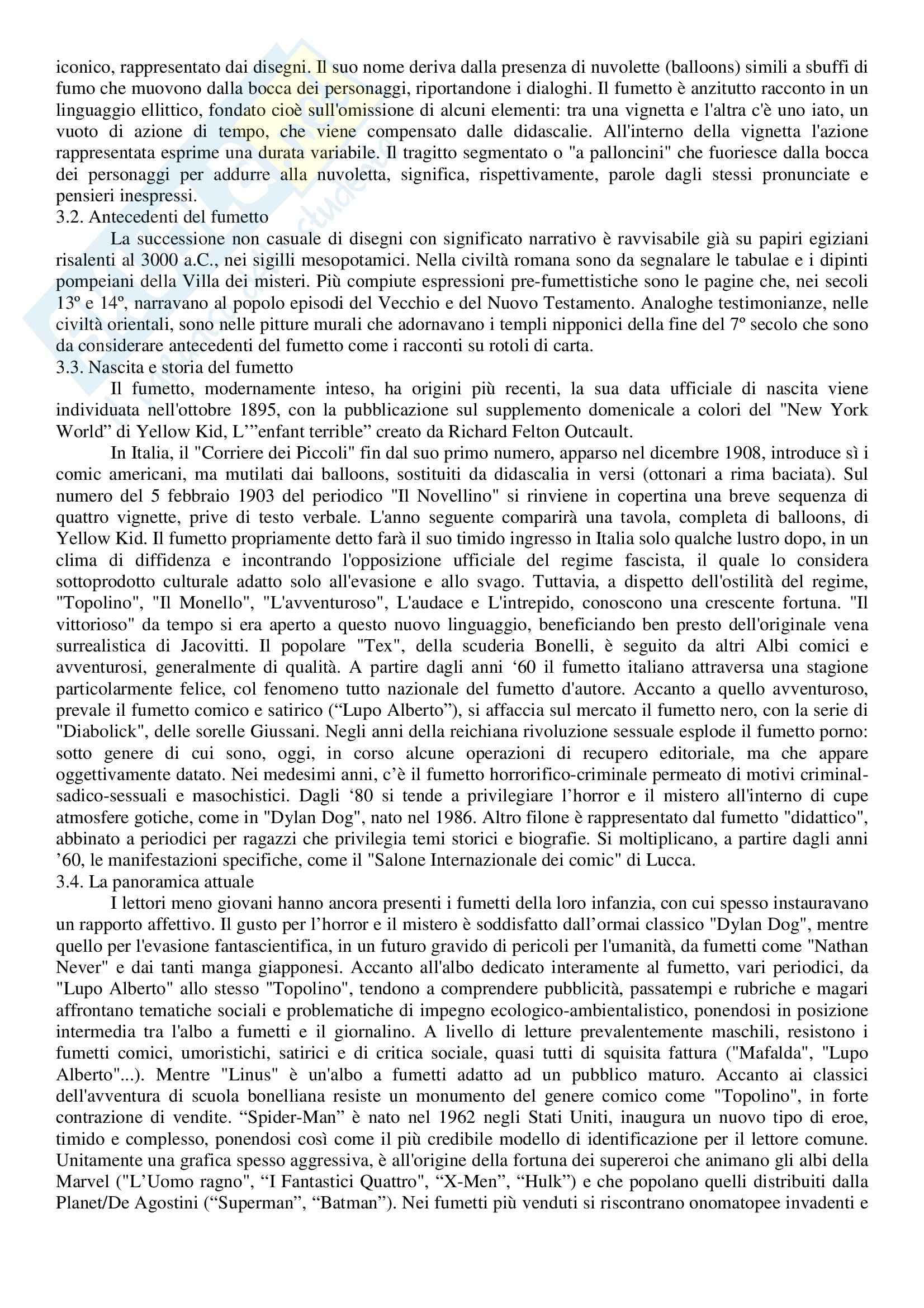 Riassunto esame Letteratura per l'Infanzia, prof. Bacchetti, libro consigliato La Letteratura per l'Infanzia Oggi Pag. 11