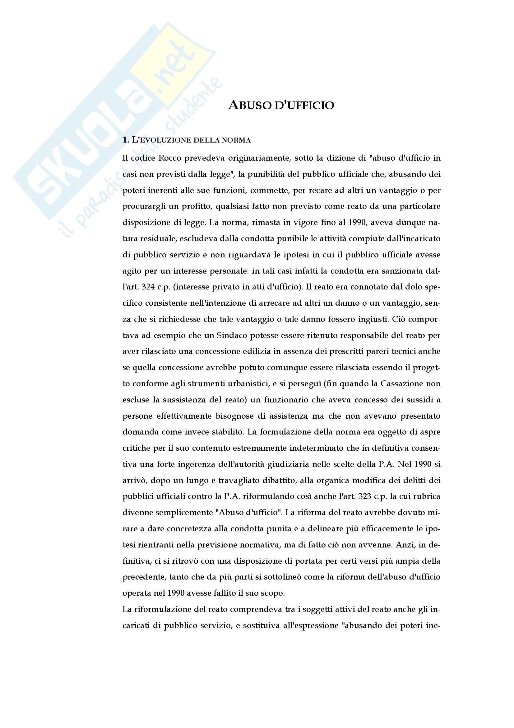 appunto A. Bondi Diritto Penale