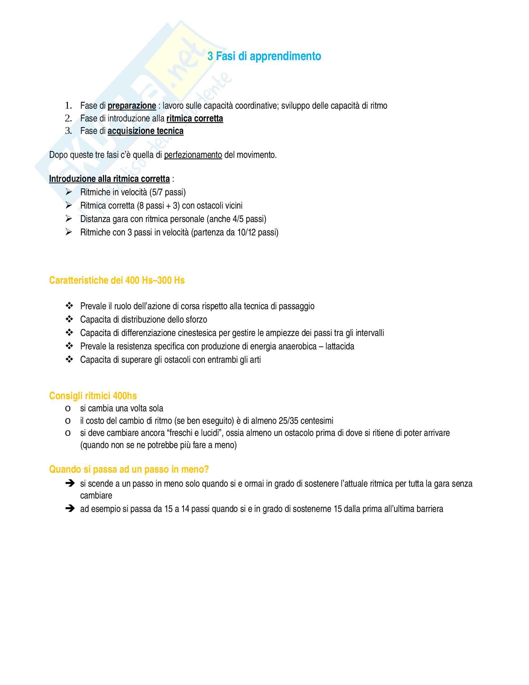 Atletica leggera Pag. 11