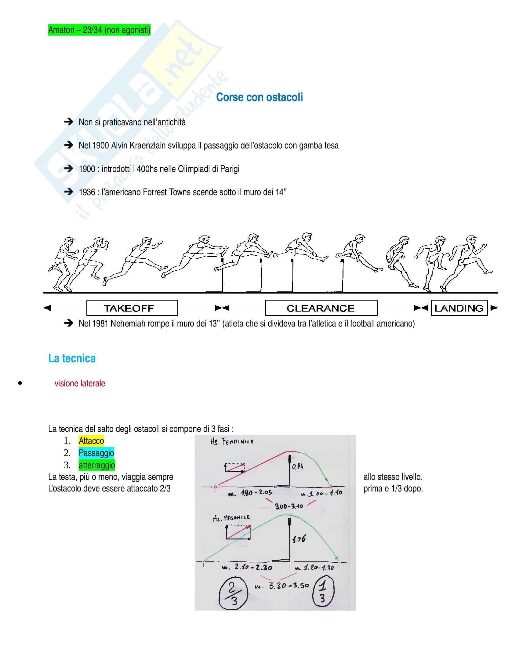 Atletica leggera Pag. 6