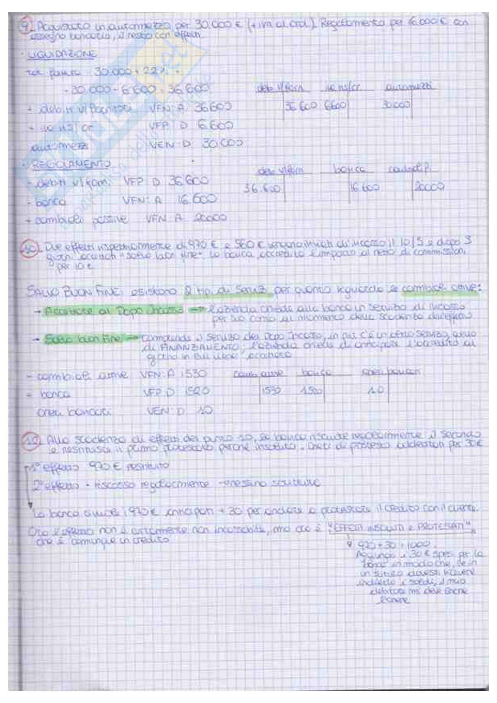Economia Aziendale I Esercizi PDF Pag. 11