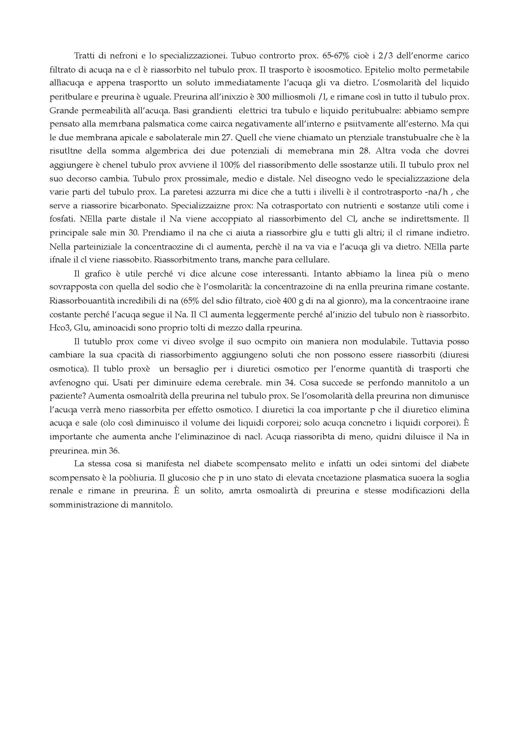 Fisiologia - fisiologia renale Pag. 61