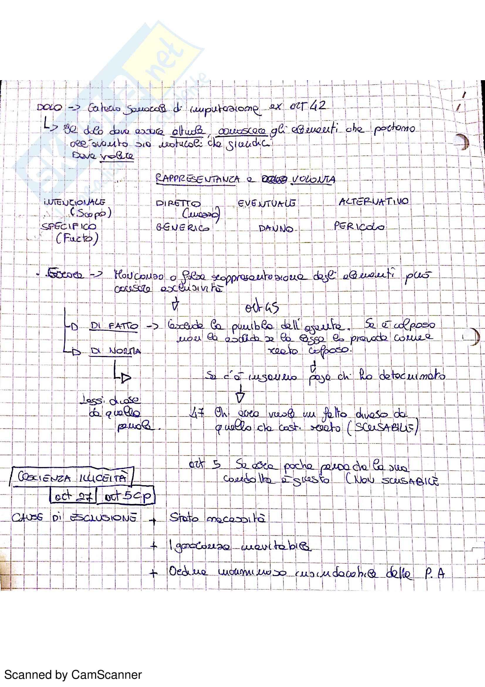 Riassunto esame Diritto Penale, prof. Ferrante, libro consigliato Diritto penale. Parte generale, Fiandaca, Musco Pag. 6
