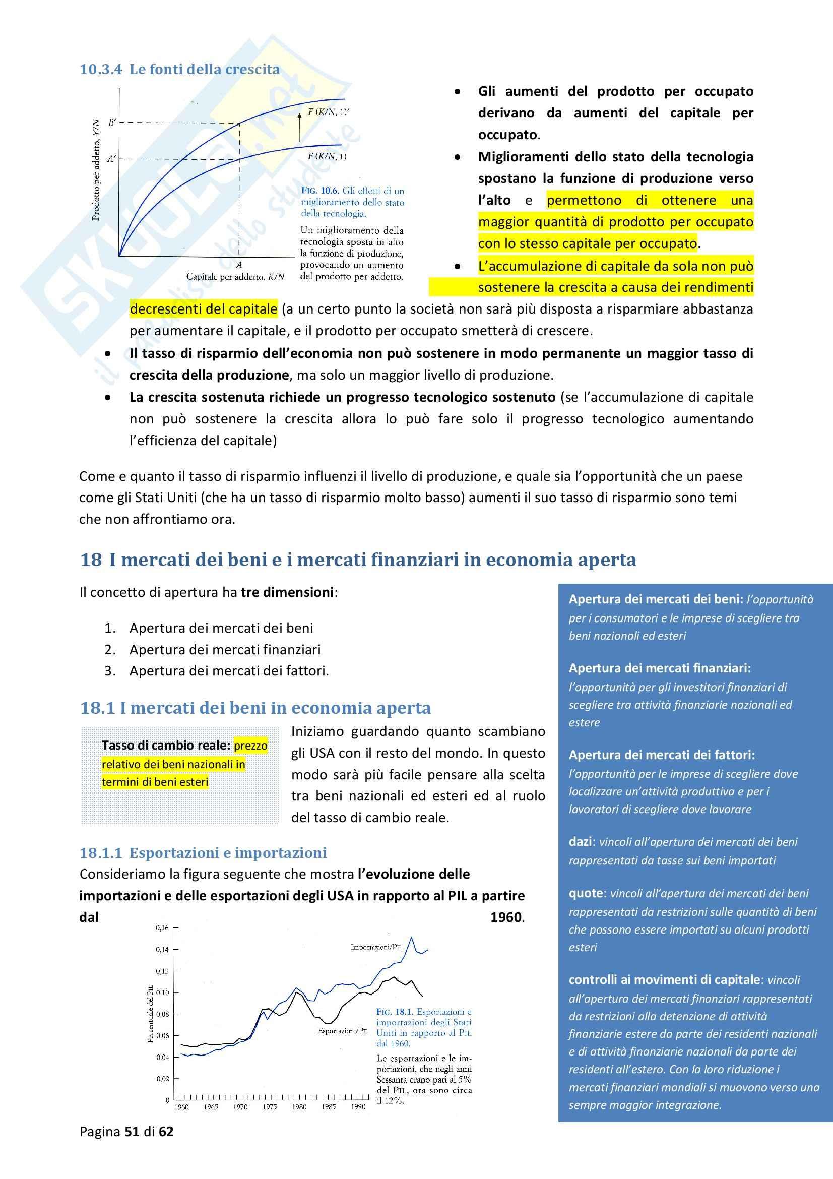 Riassunto esame Macroeconomia, prof. Blanchard, libro consigliato Macroeconomia Pag. 51