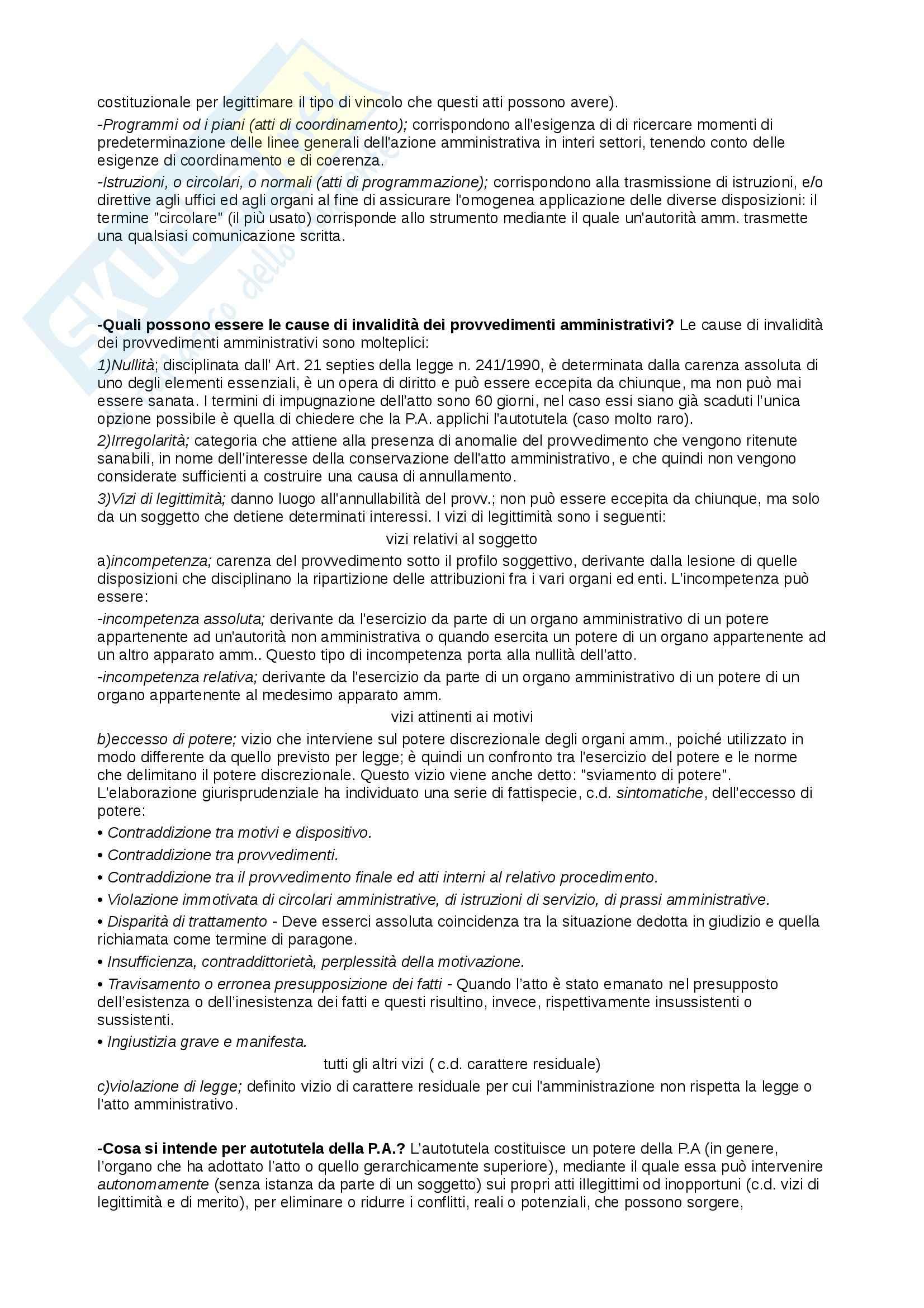 Riassunto esame Diritto Pubblico, prof. Cocco, libro consigliato Diritto Costituzionale e Pubblico, Caretti, De Siervo Pag. 26