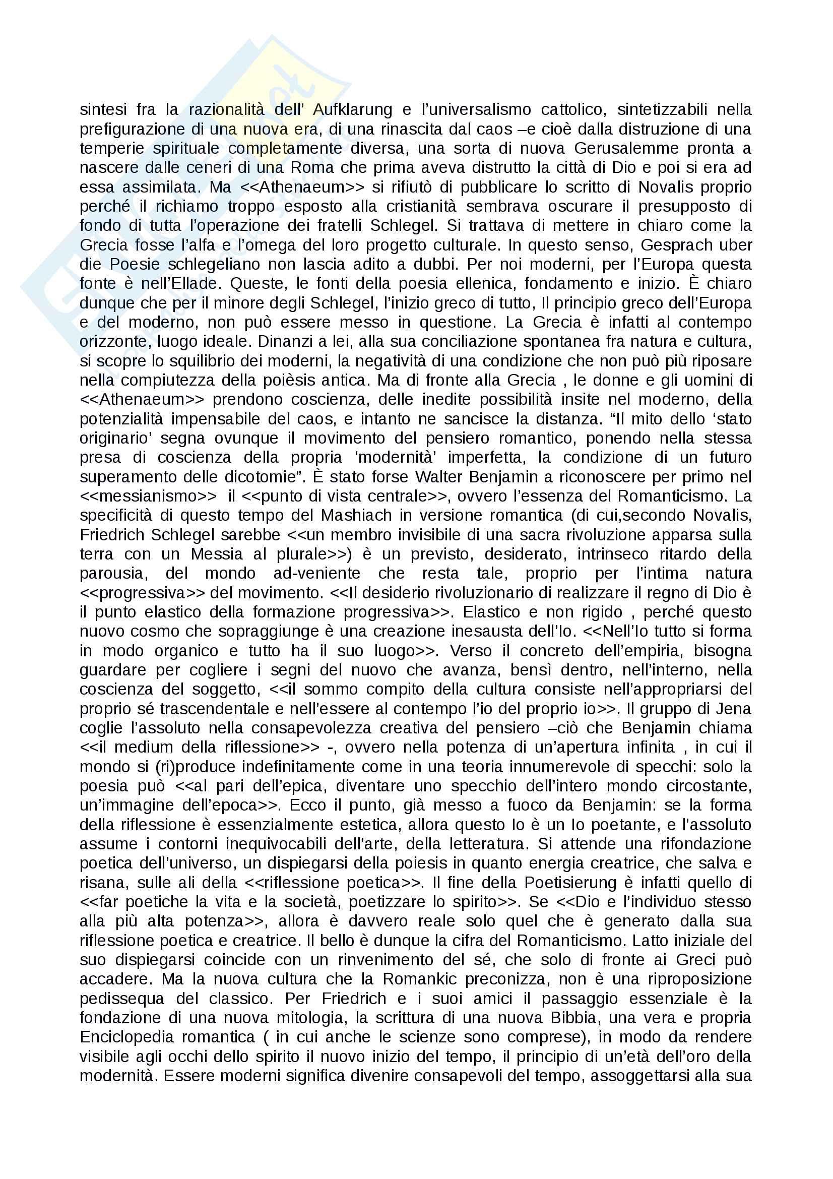 Riassunto esame ermeneutica, docente Sichera, testo consigliato: Ceux qui cherchent en g missant Crepuscolo e nascondimento di Dio nella scrittura letteraria Pag. 2