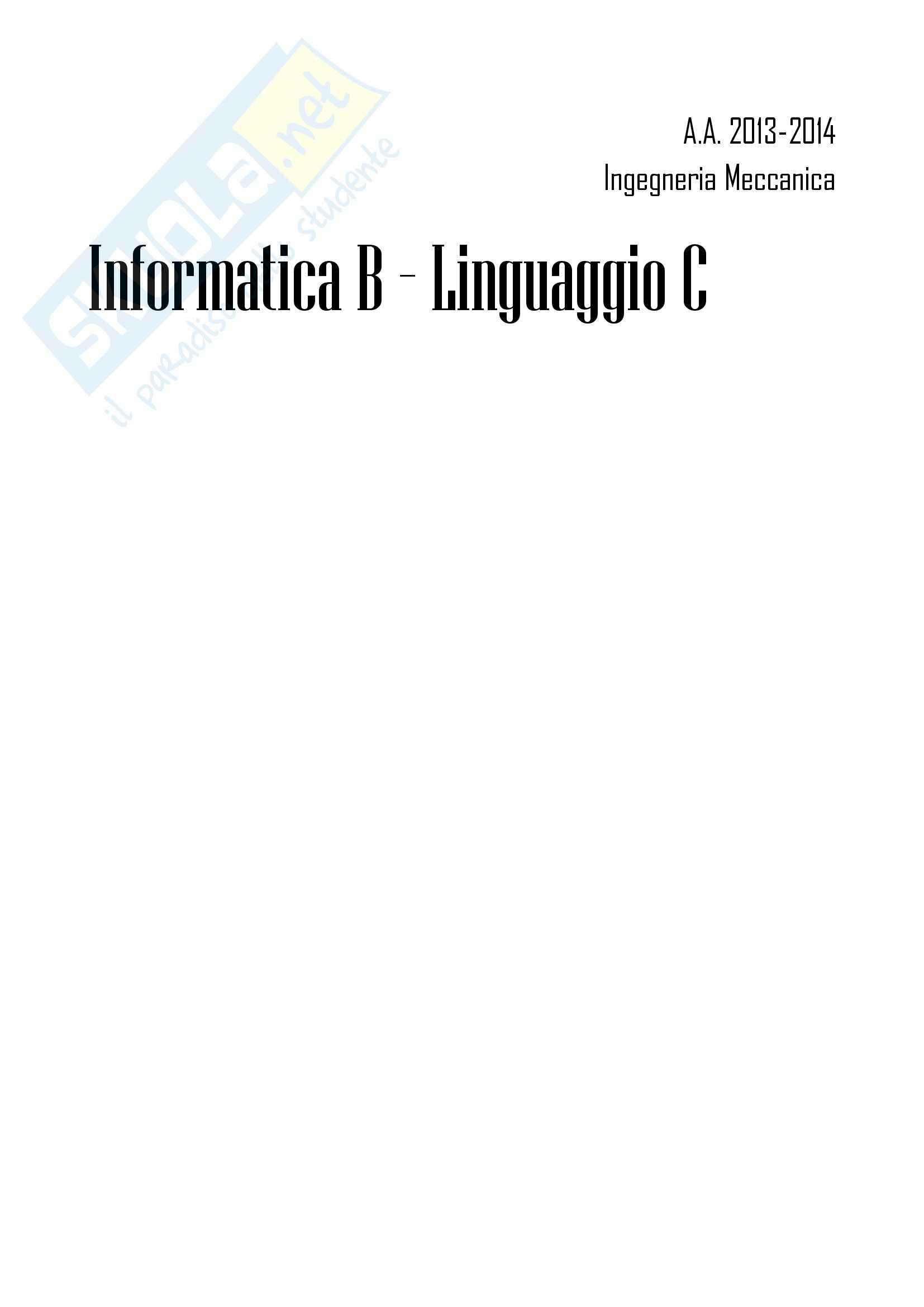 appunto M. Masseroli Informatica